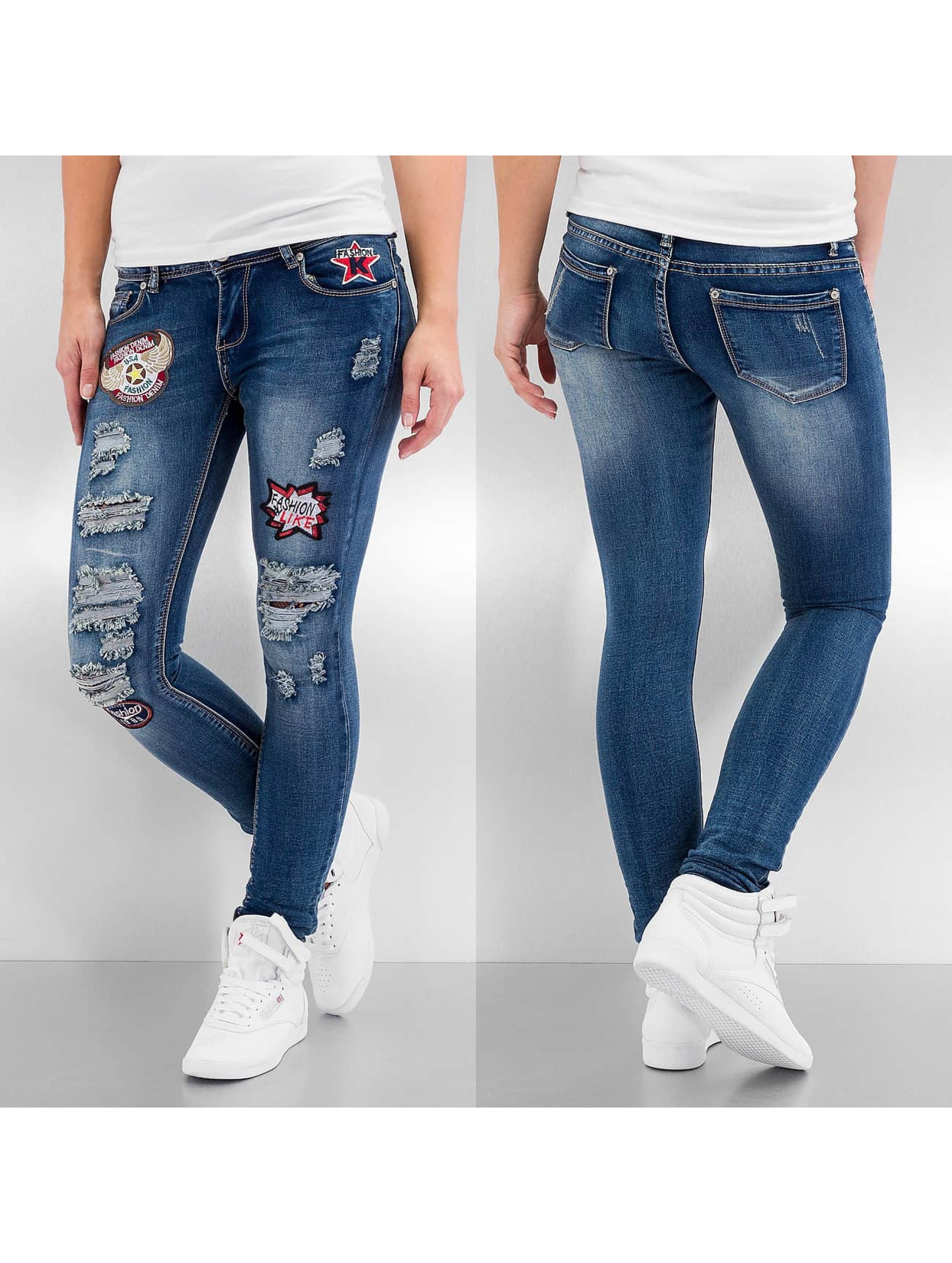 Skinny Jeans Paula in blau