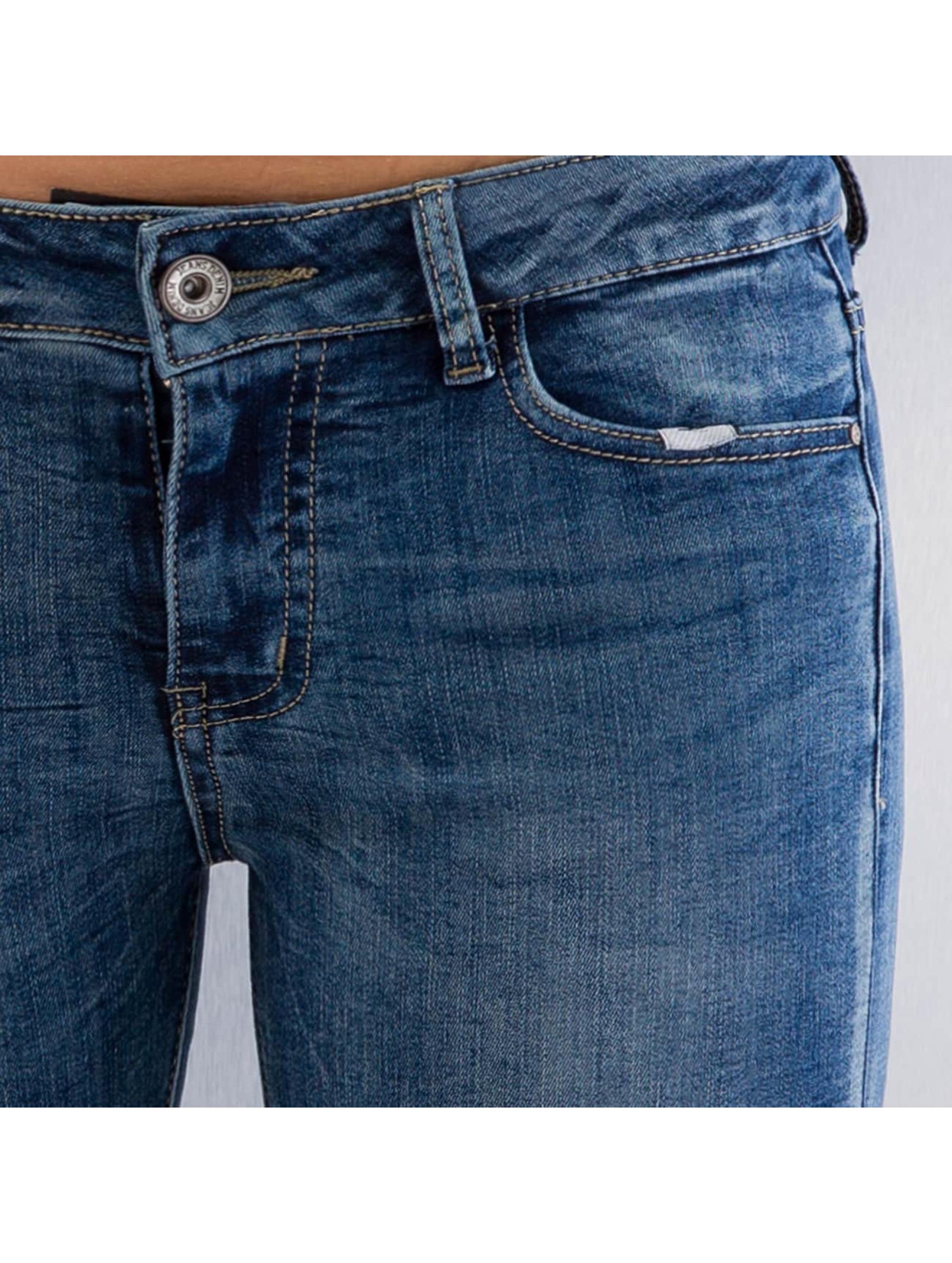 Hailys Skinny Jeans Wiona blau