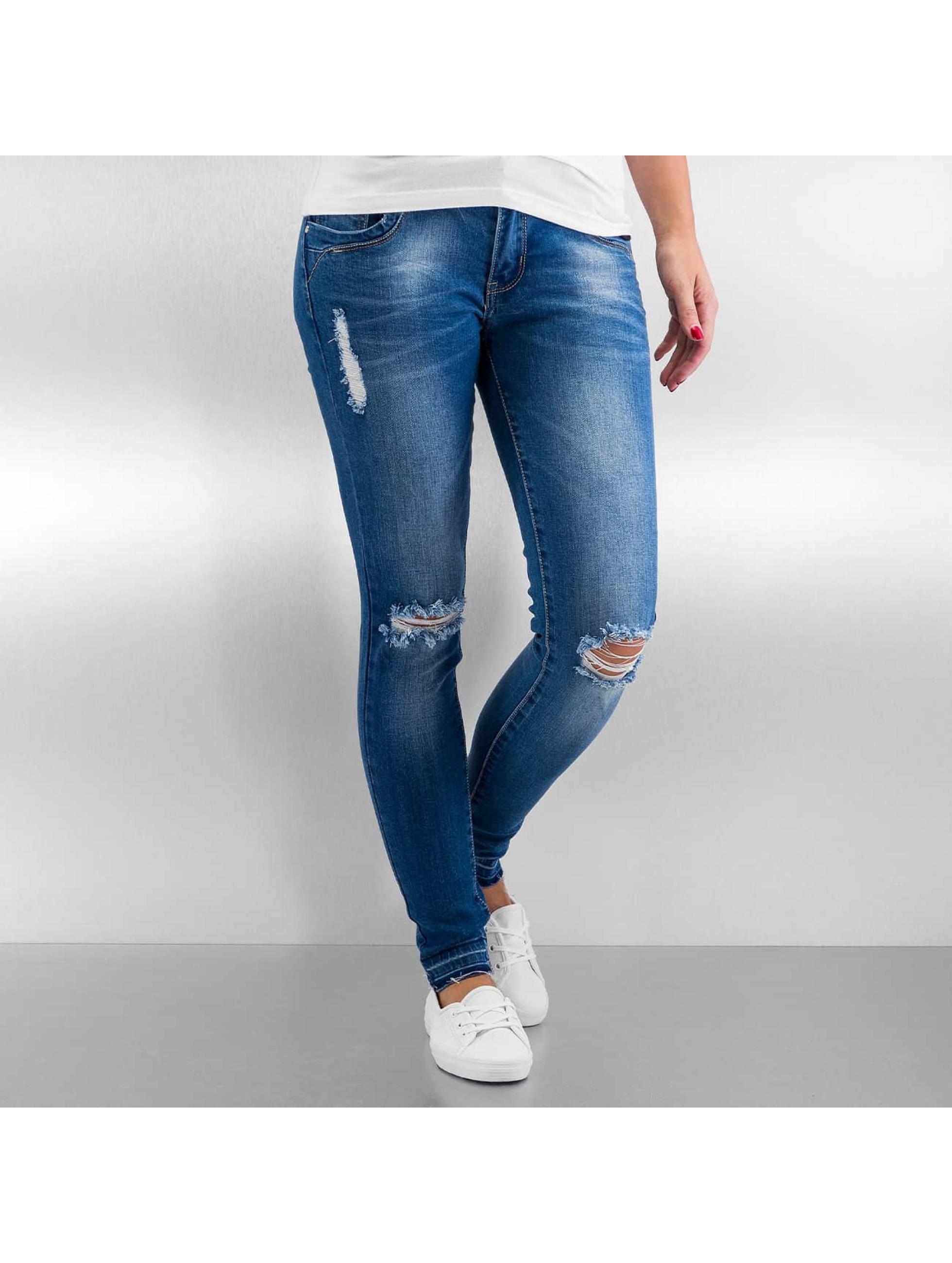 Skinny Jeans Sofia in blau