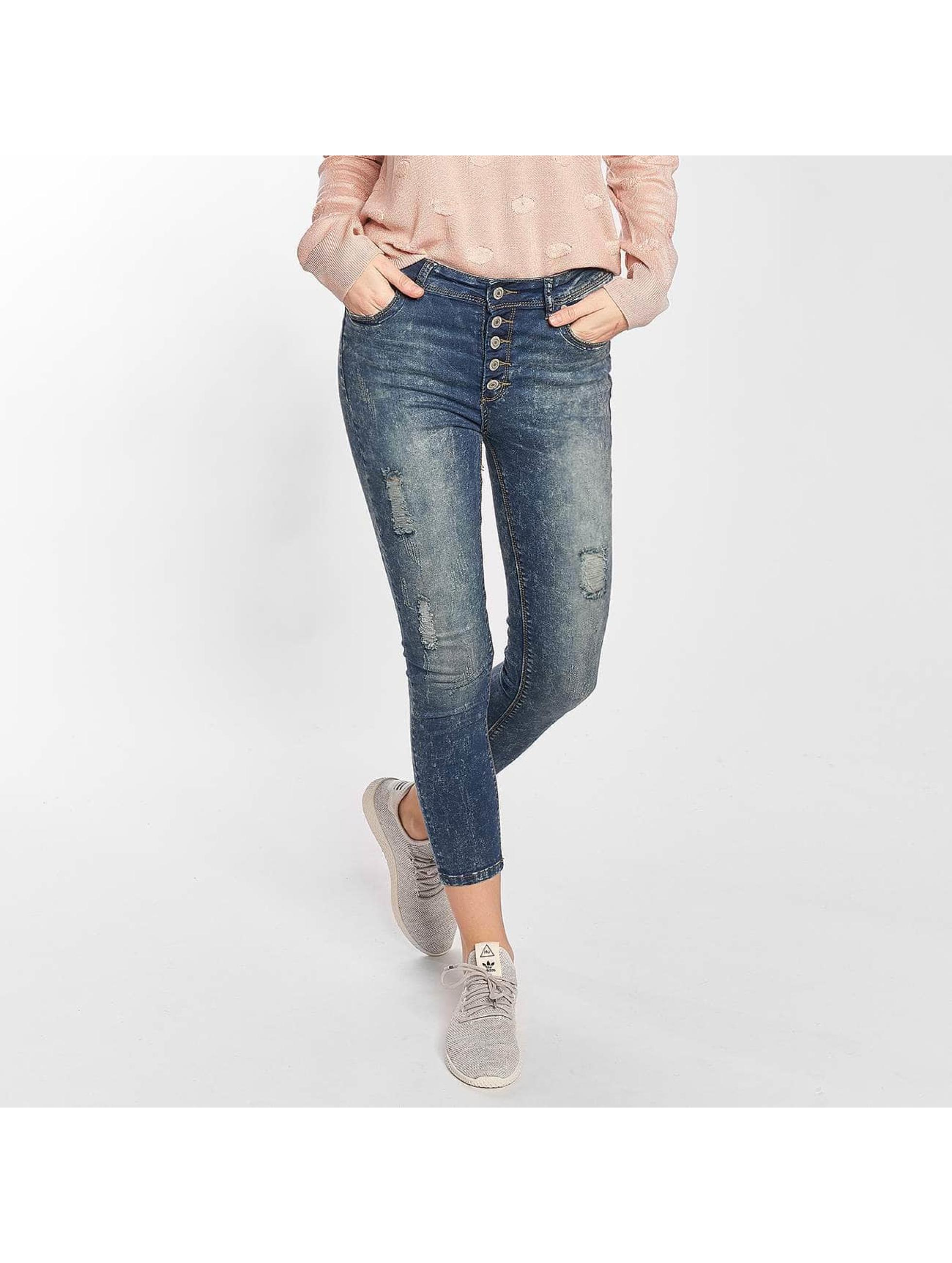 Hailys Skinny jeans Kristal blauw