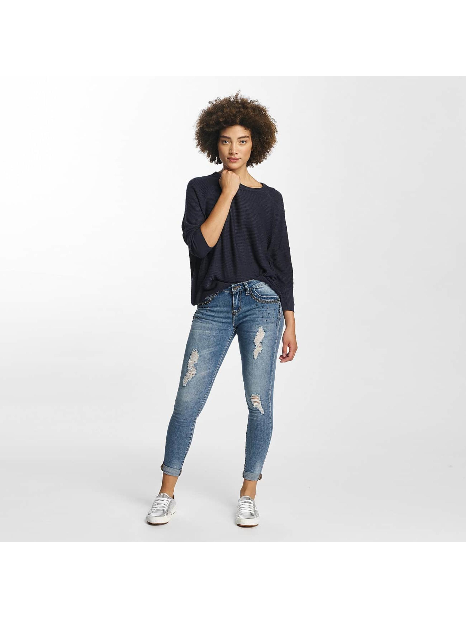 Hailys Skinny Jeans Ines Destroyed modrý