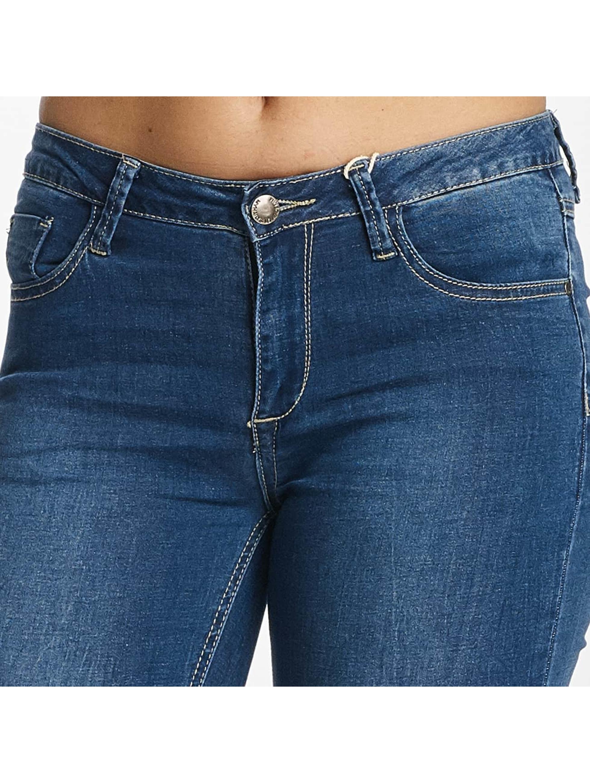 Hailys Skinny Jeans Bella modrý