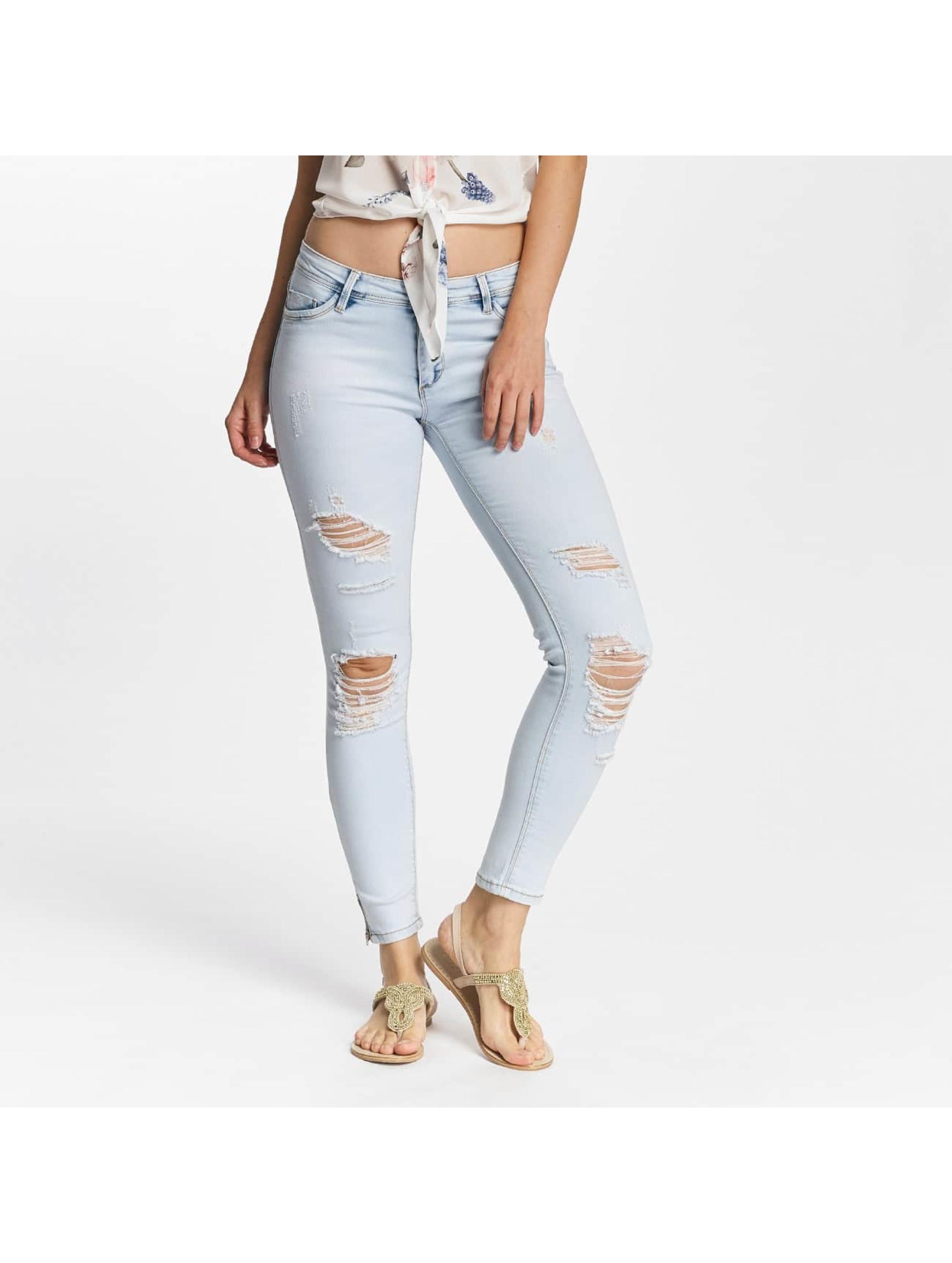 Hailys Skinny Jeans Lara niebieski