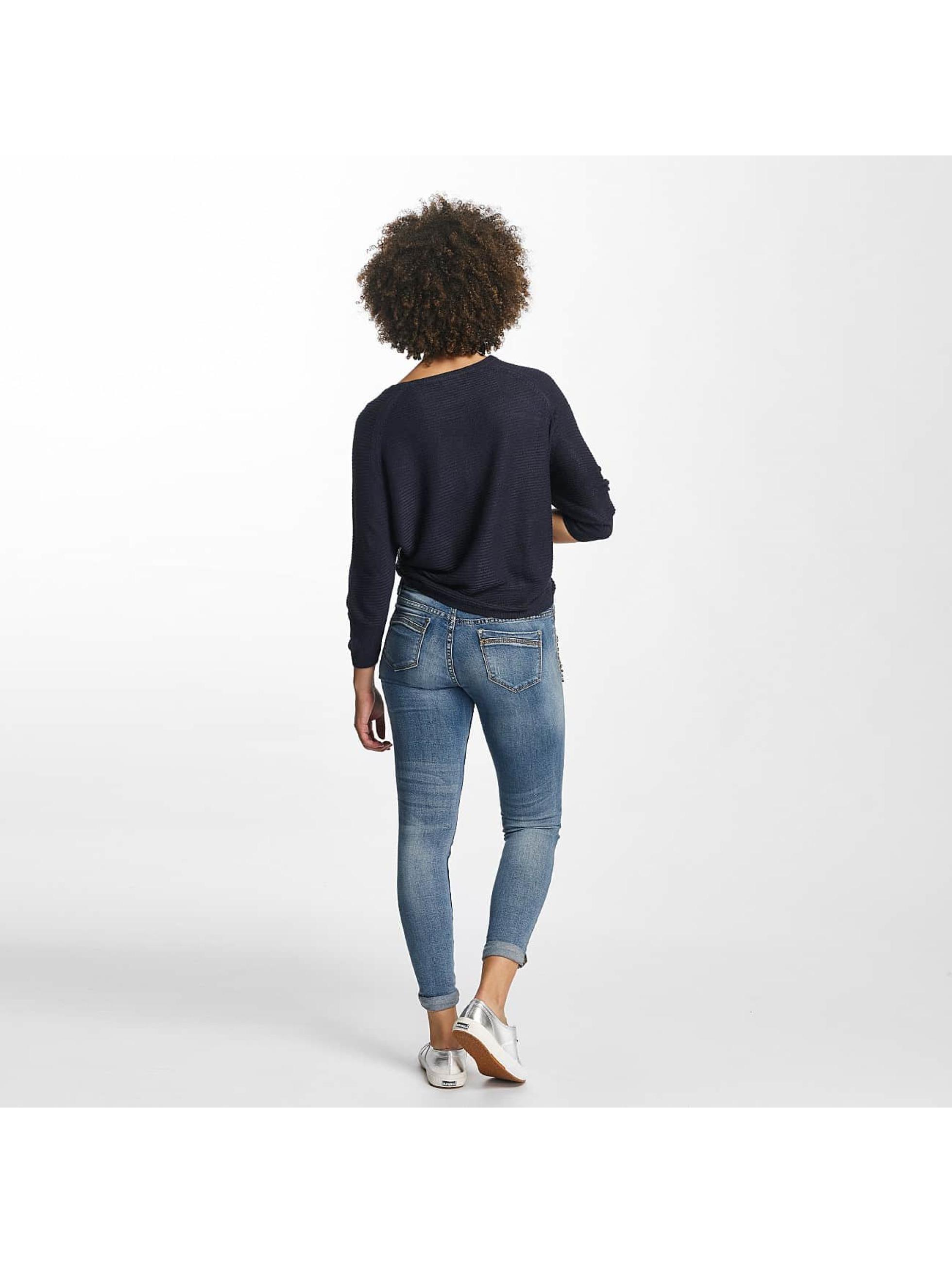 Hailys Skinny Jeans Ines Destroyed niebieski