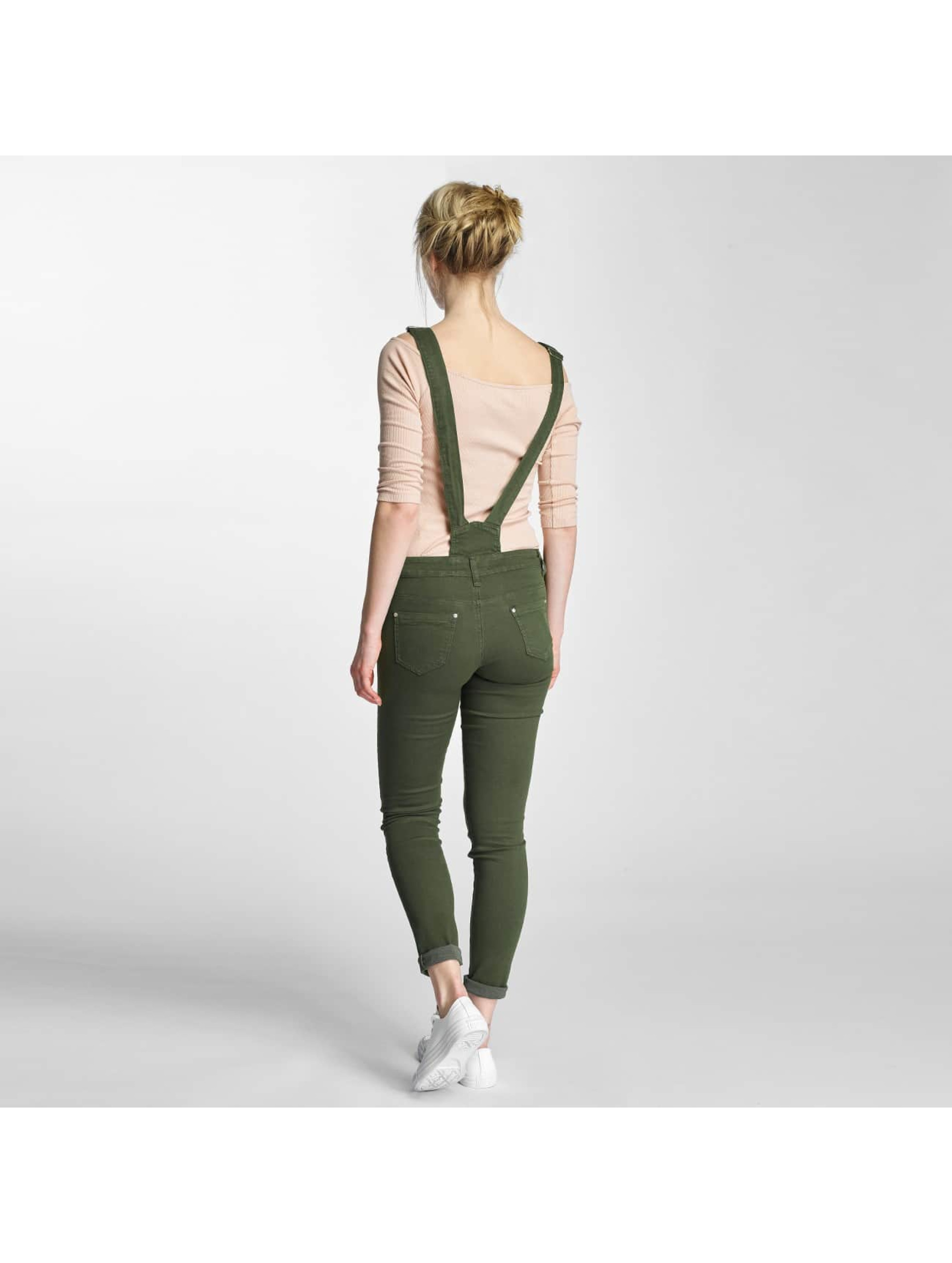 Hailys Slim Fit Jeans Conie kaki