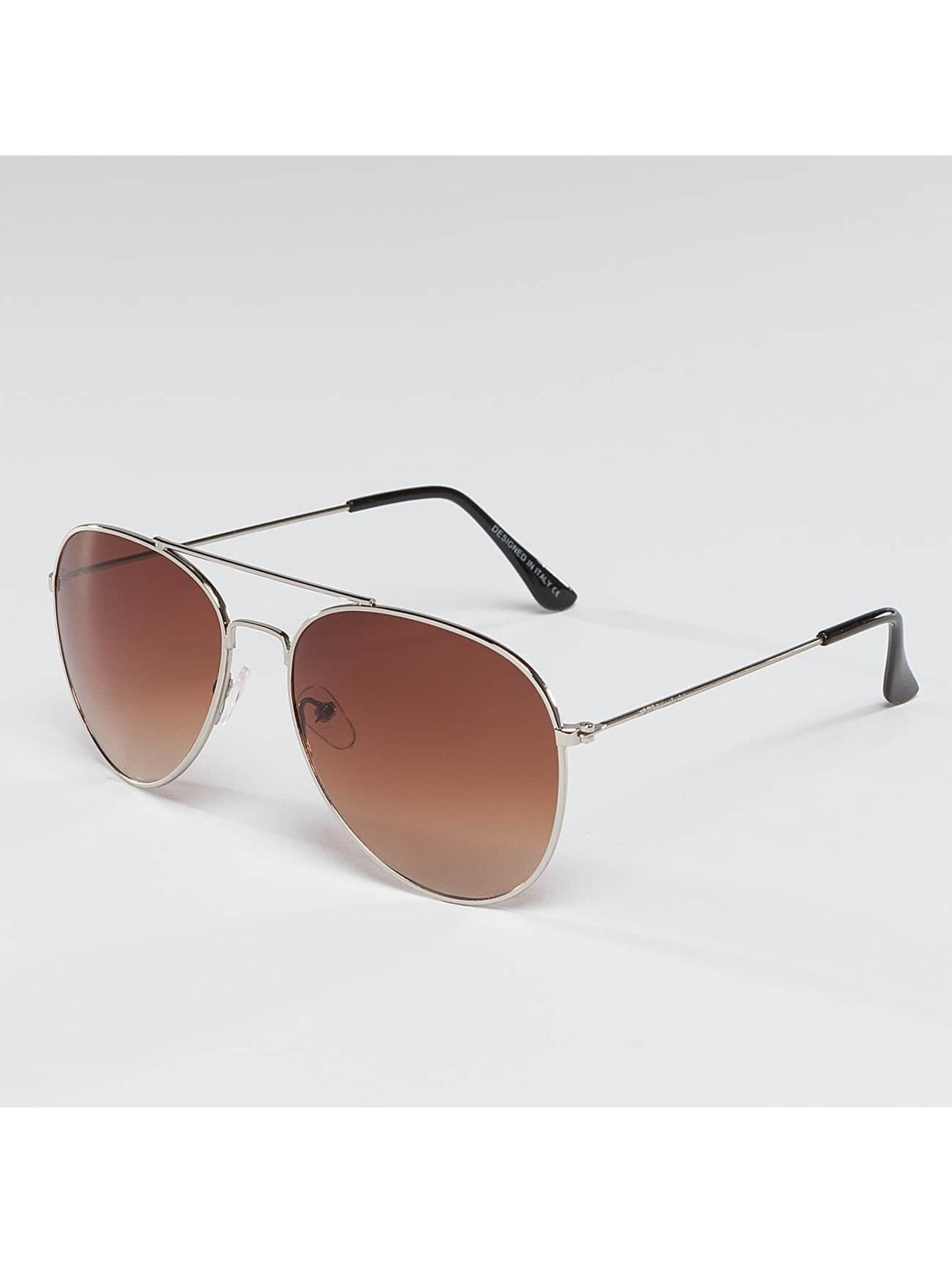 Hailys Sonnenbrille Pilot silberfarben