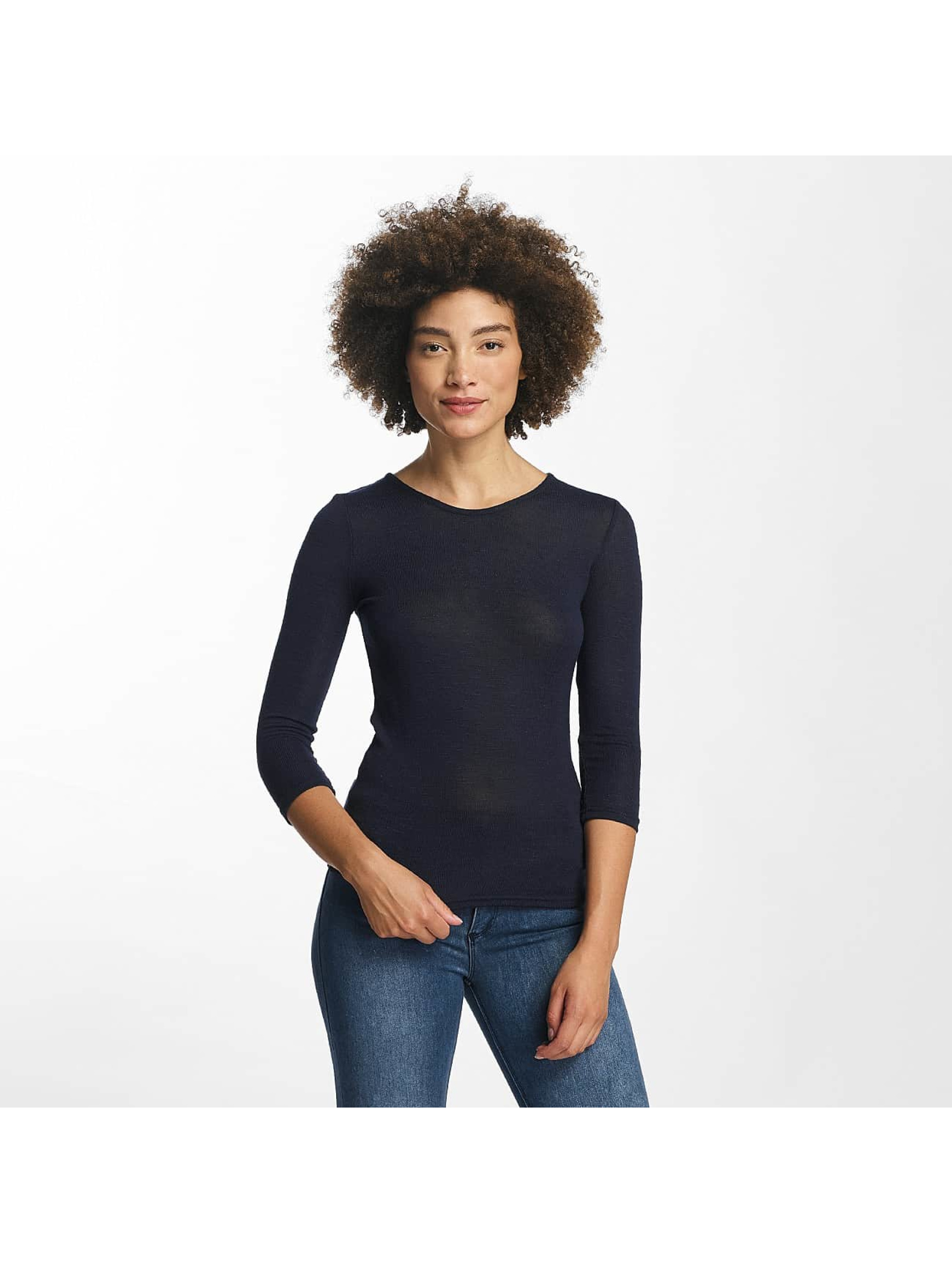 Hailys Swetry Jenny 3/4 Lace-Up niebieski