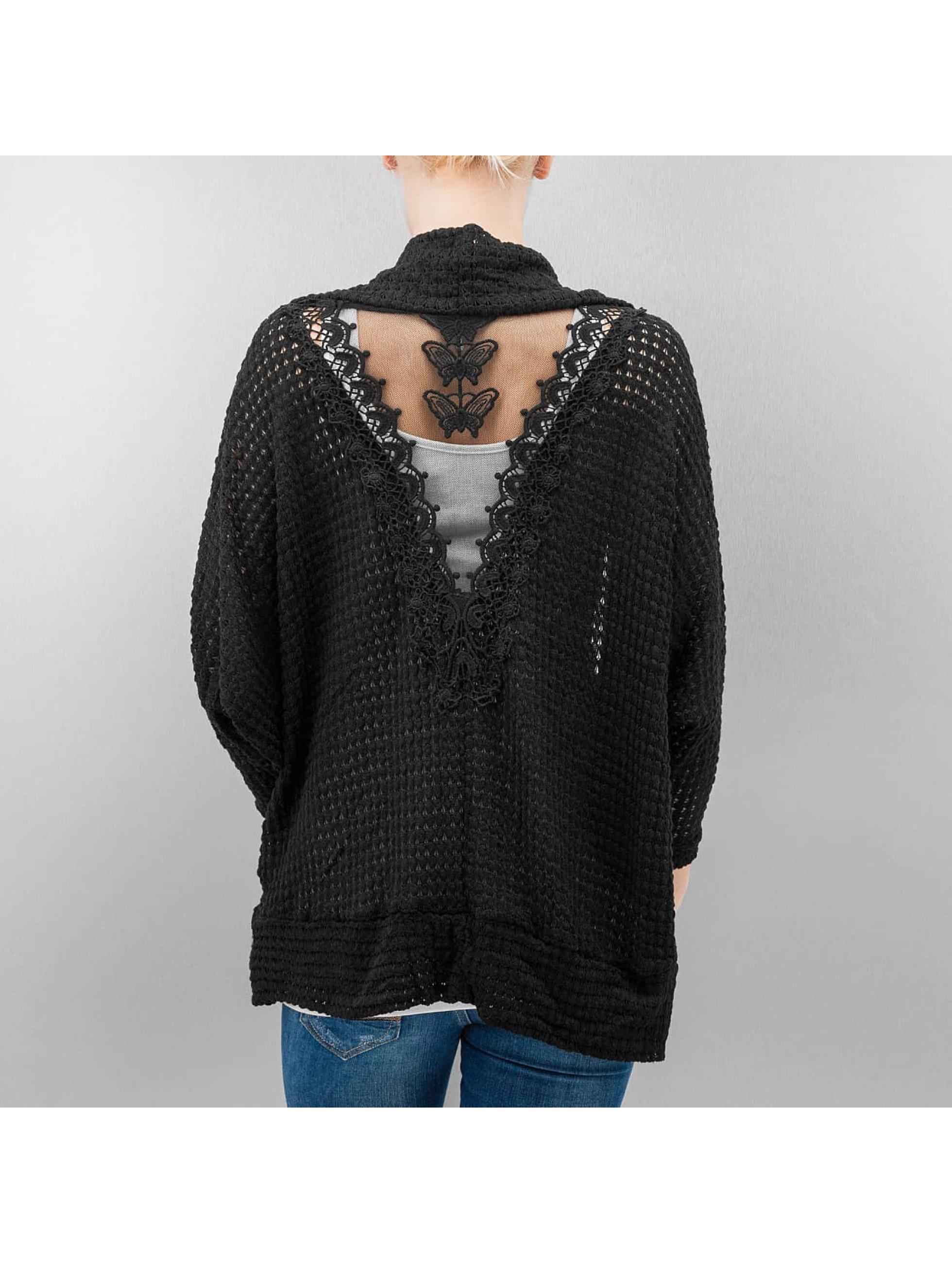 Hailys Swetry rozpinane Lilly czarny