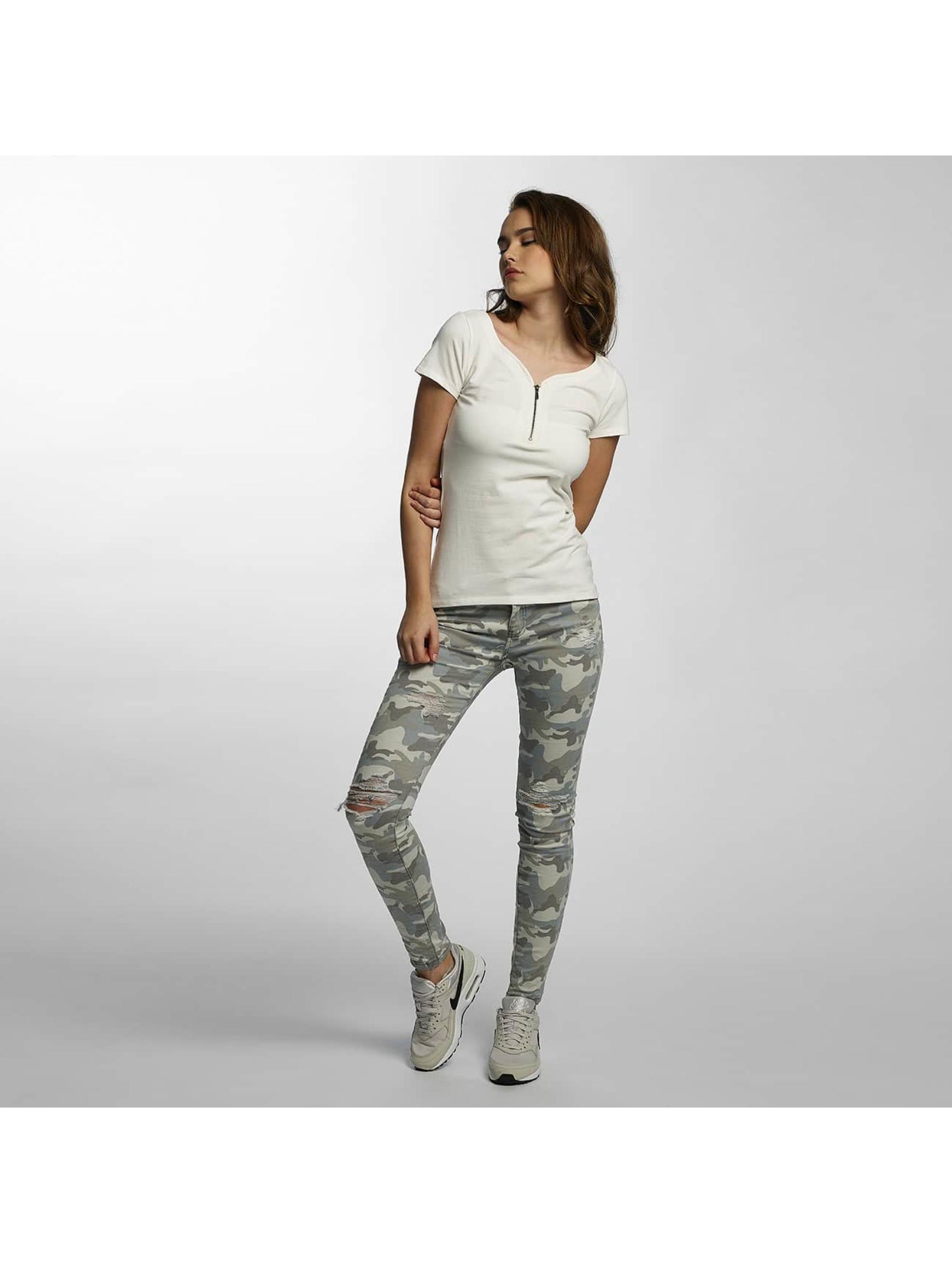 Hailys T-Shirt Pia blanc