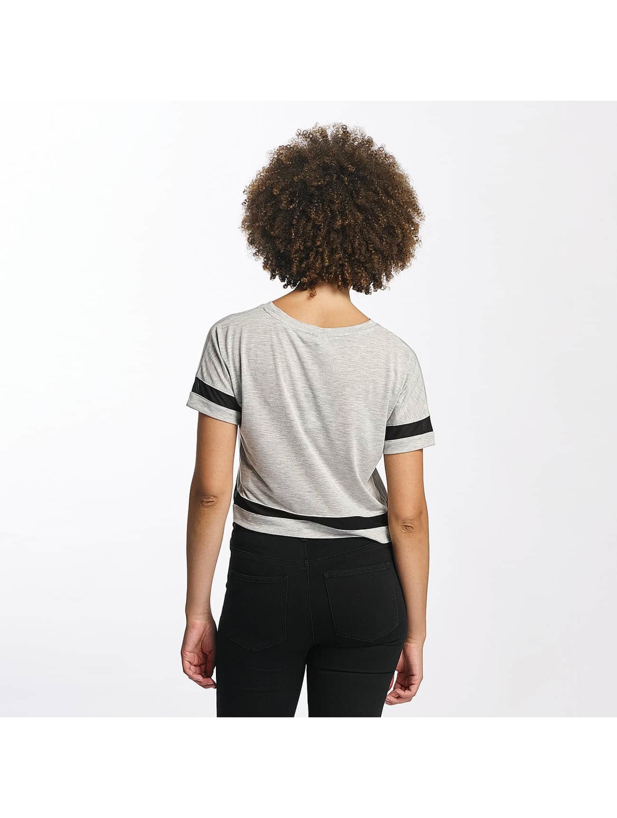Hailys T-Shirt Bonnie Cropped grau