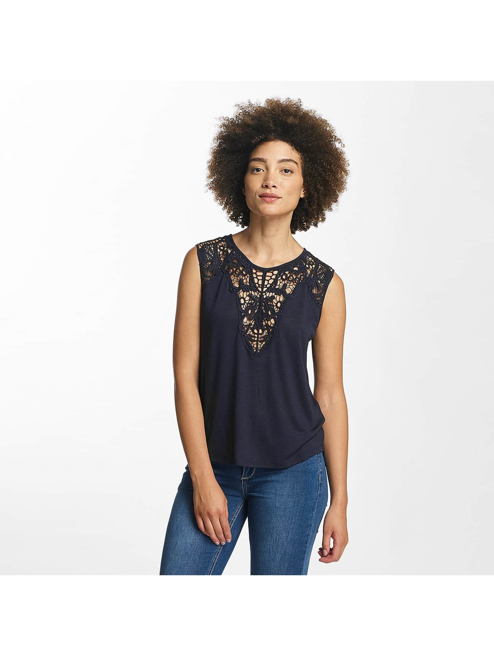 Hailys Top Oni Lace blau