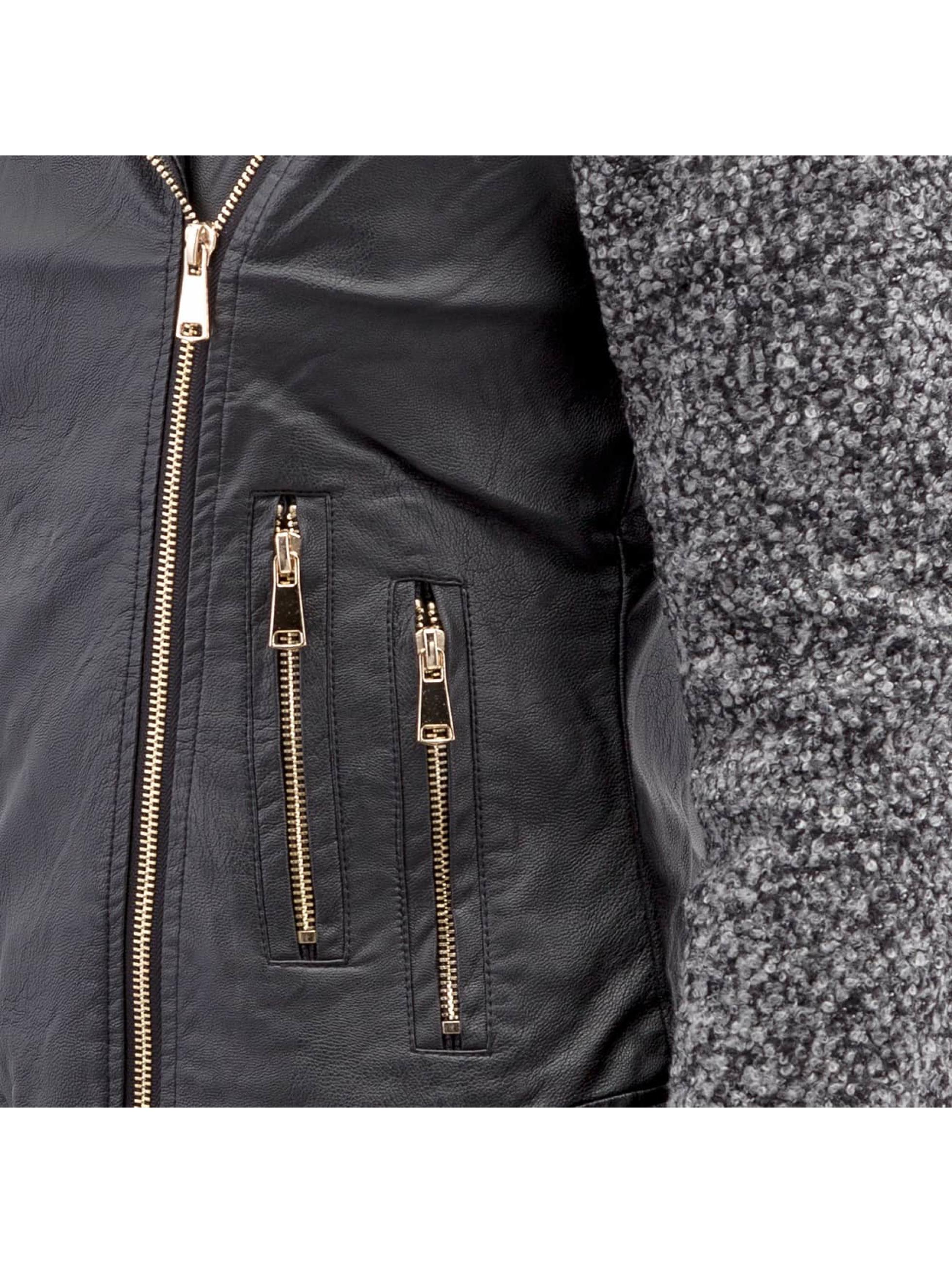 Hailys Transitional Jackets Ceclilia Pop svart
