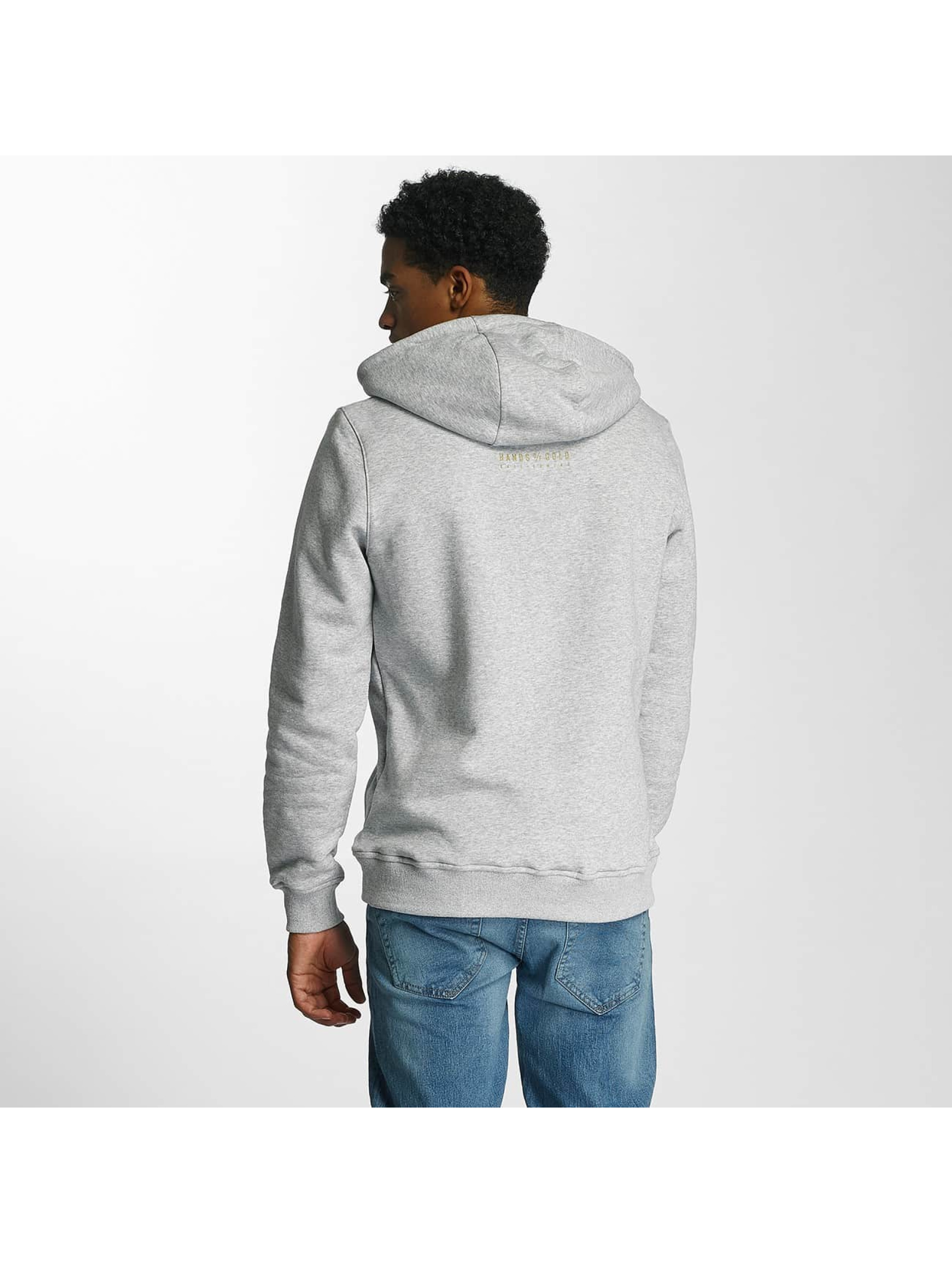 Hands of Gold Hoodie Chillin gray
