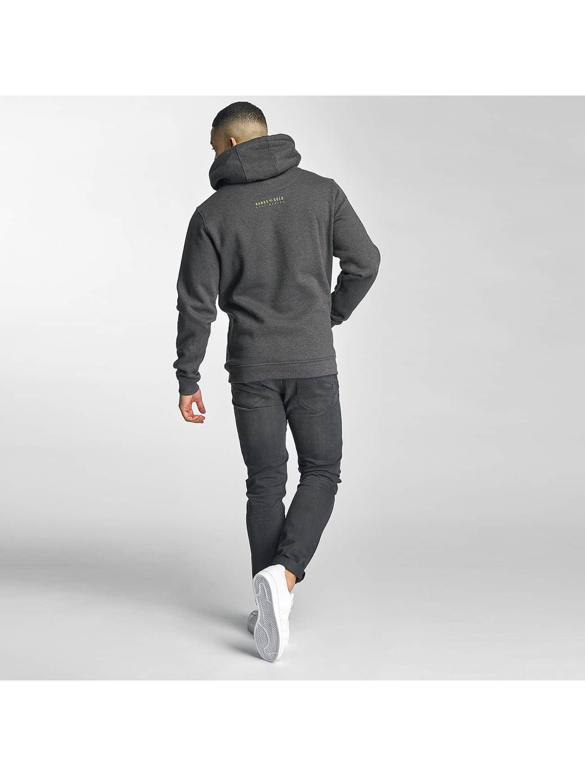Hands of Gold Hoodie Game On gray