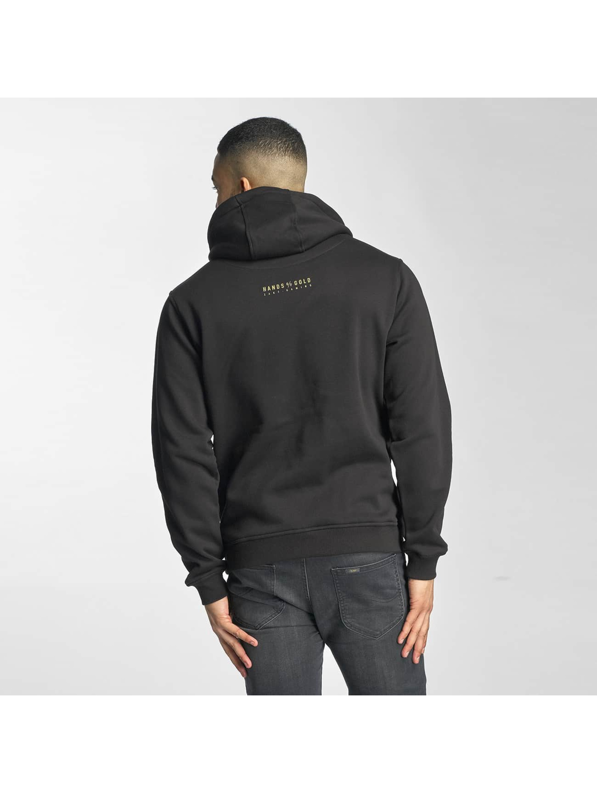 Hands of Gold Hoody Bros Before Hoes schwarz