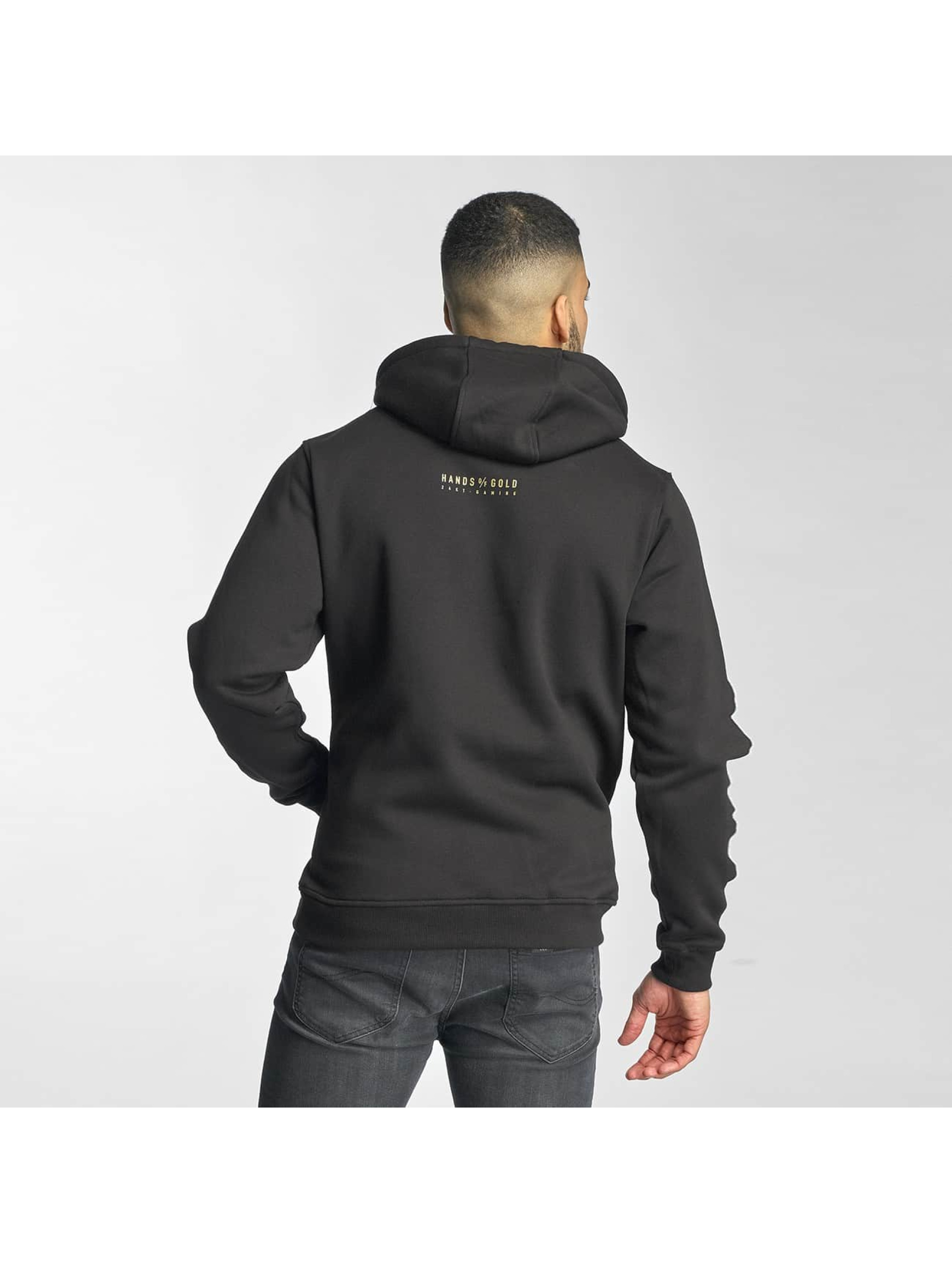 Hands of Gold Hoody All Day zwart