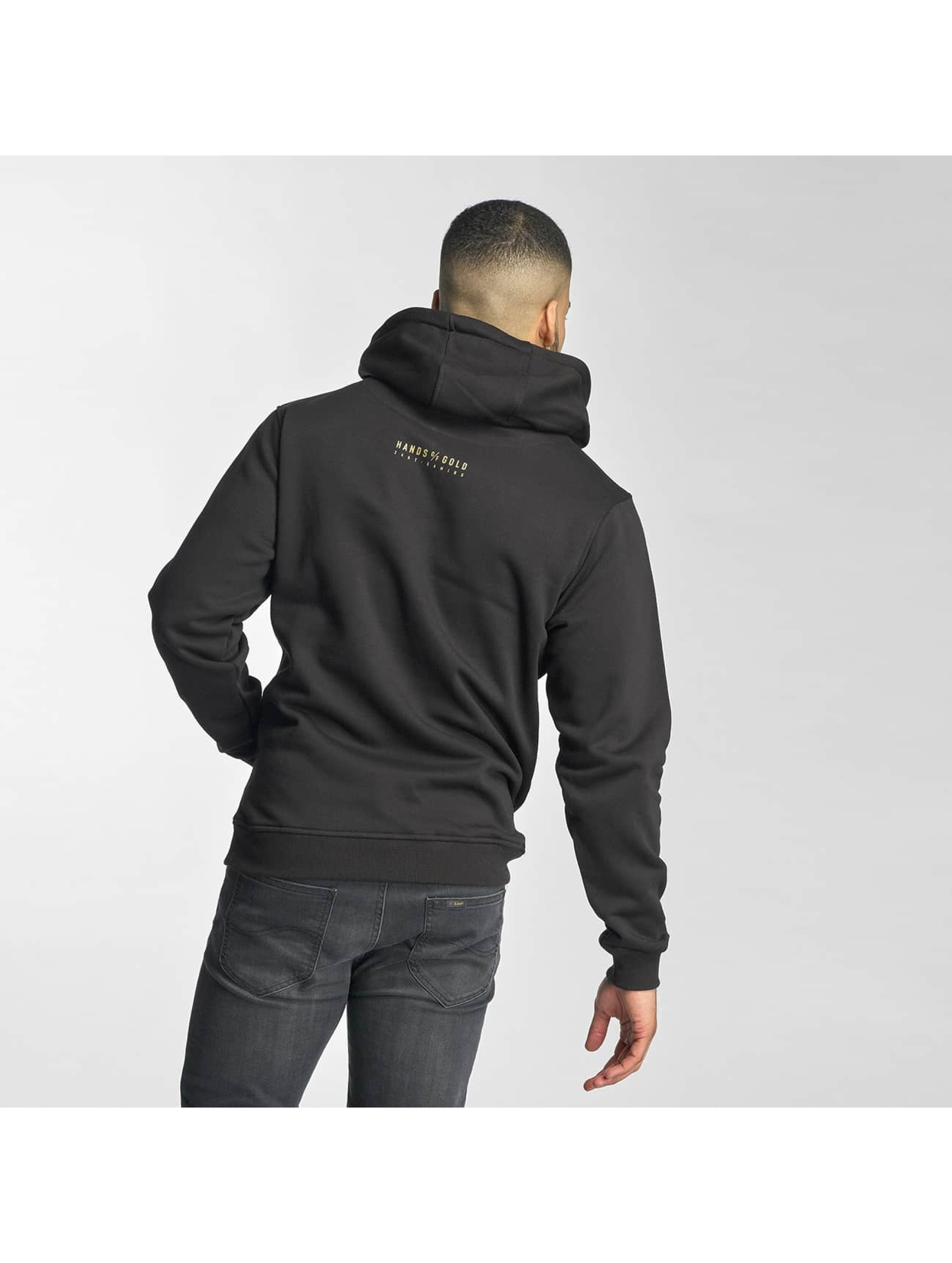 Hands of Gold Hoody Chillin zwart