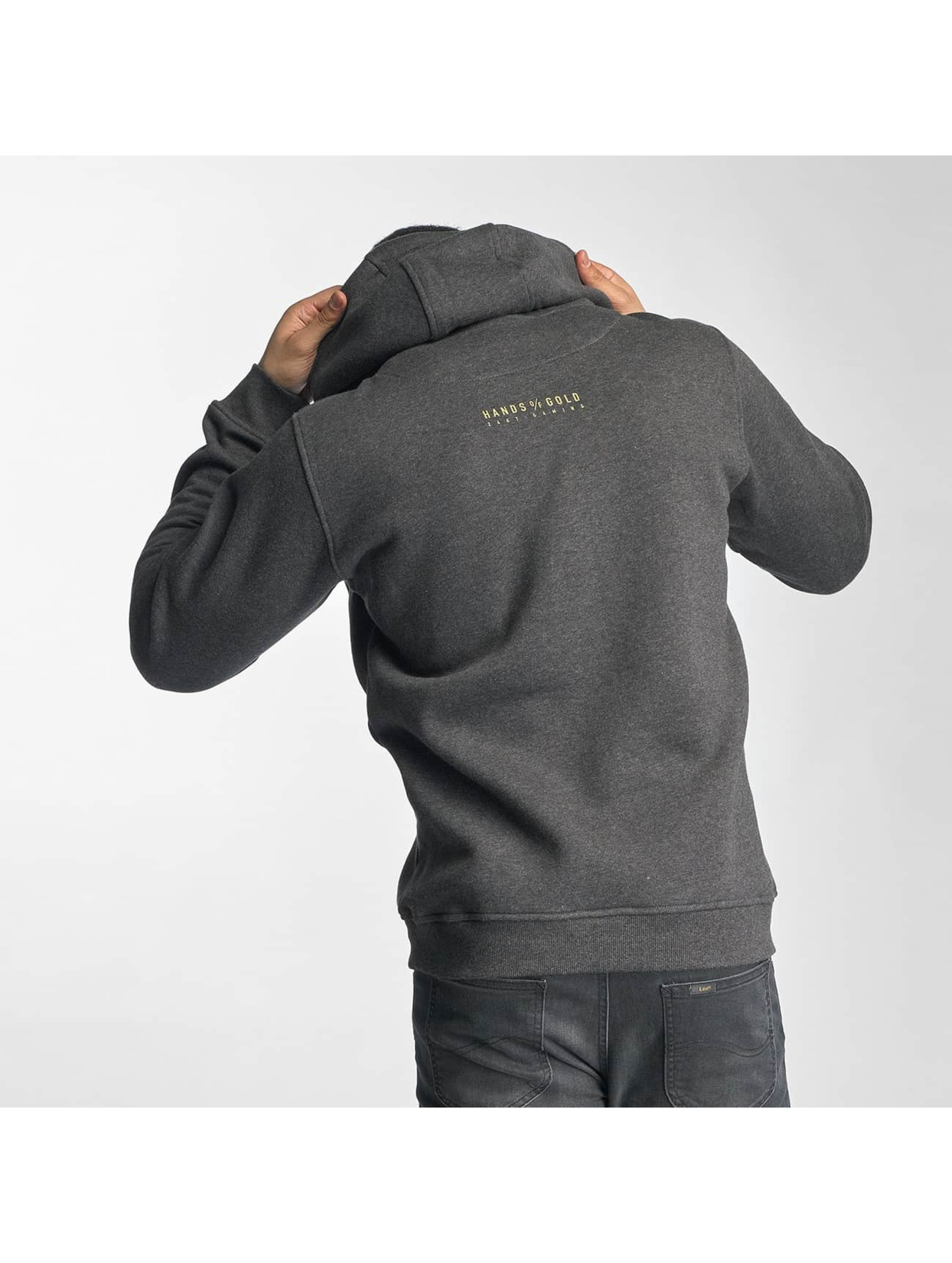 Hands of Gold Sweat capuche All Day gris