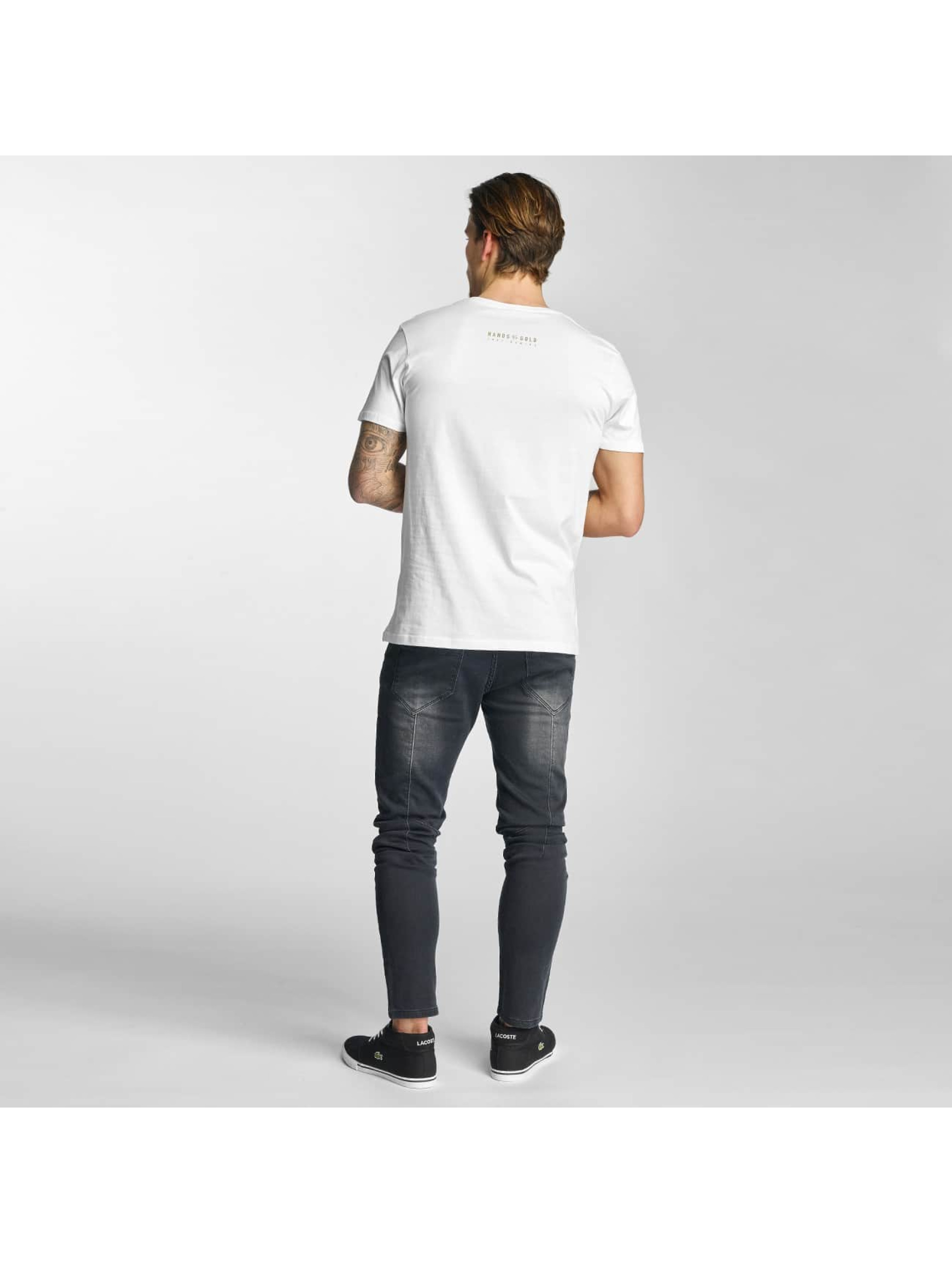 Hands of Gold T-Shirt All Day blanc