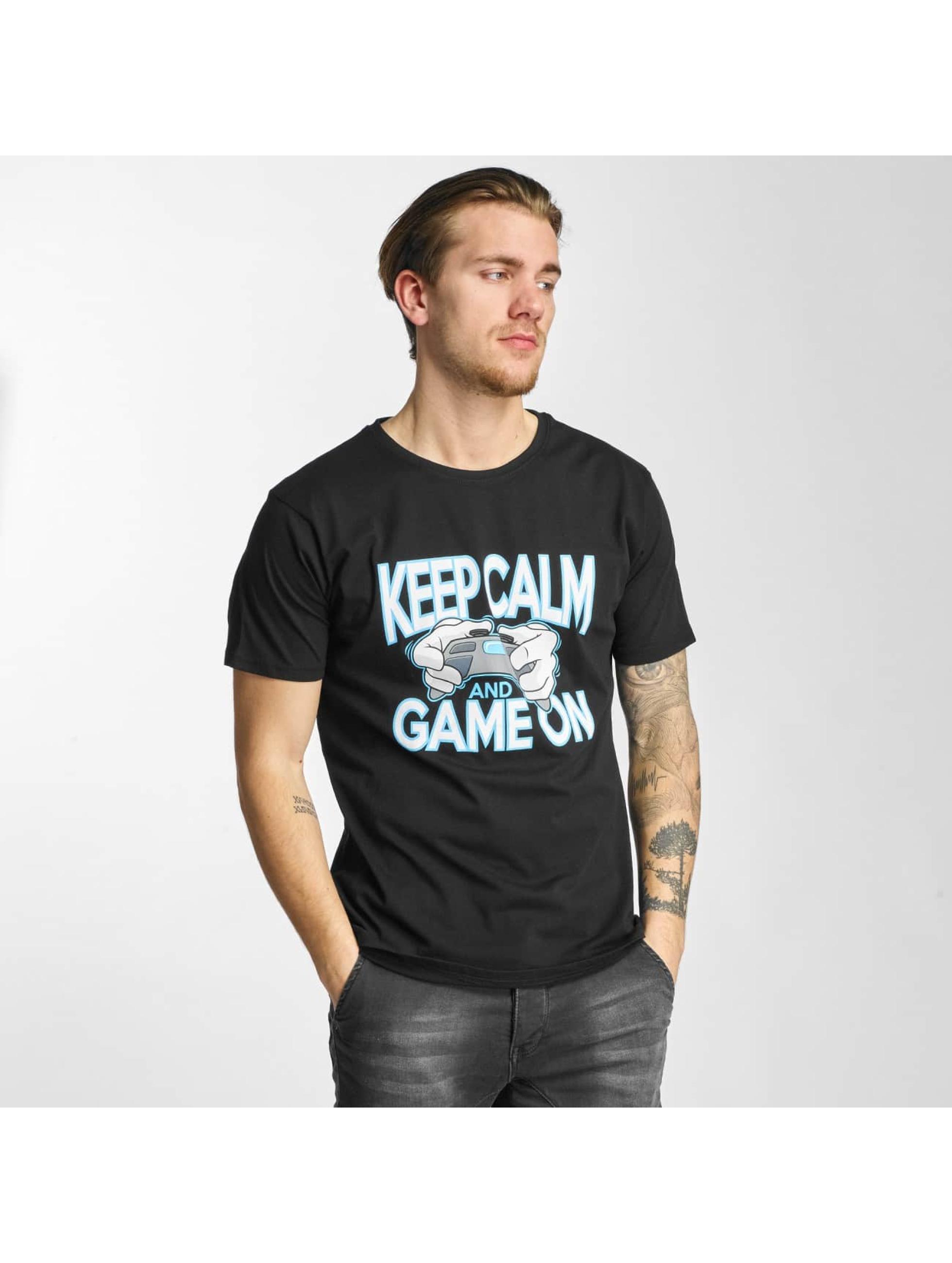 Hands of Gold T-Shirt Game On noir
