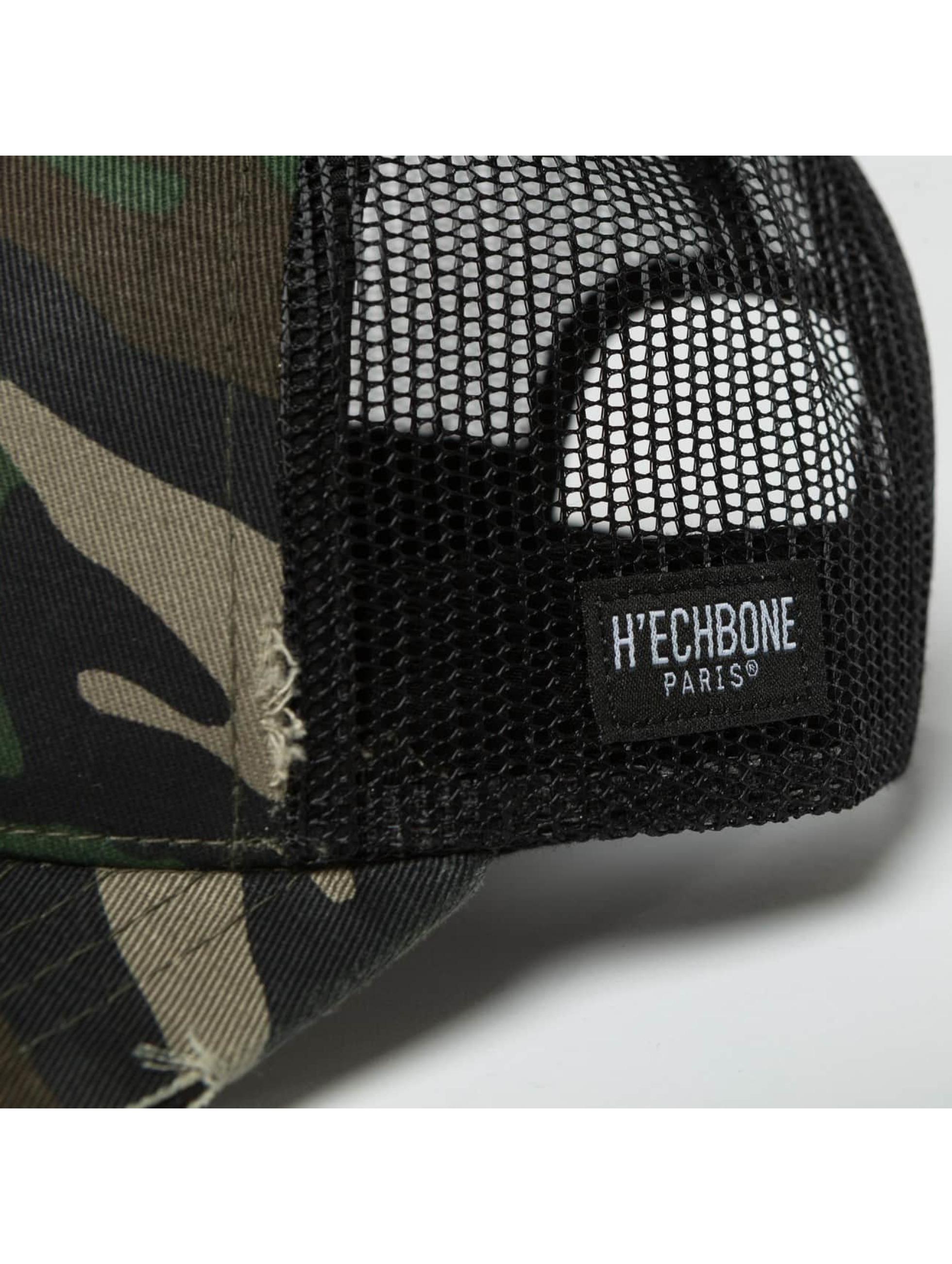 Hechbone Casquette Trucker mesh Rose camouflage