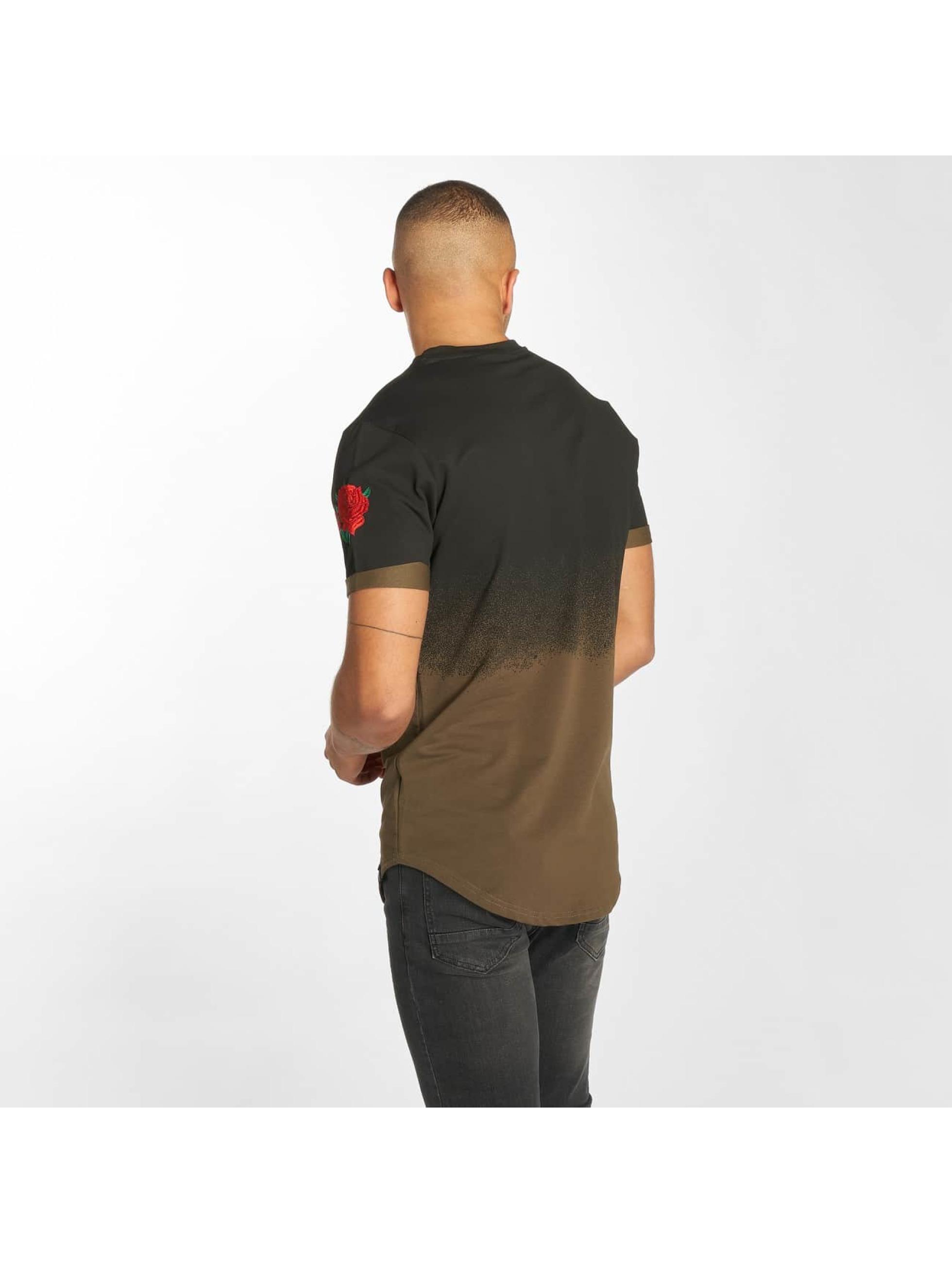Hechbone T-Shirt Roses kaki