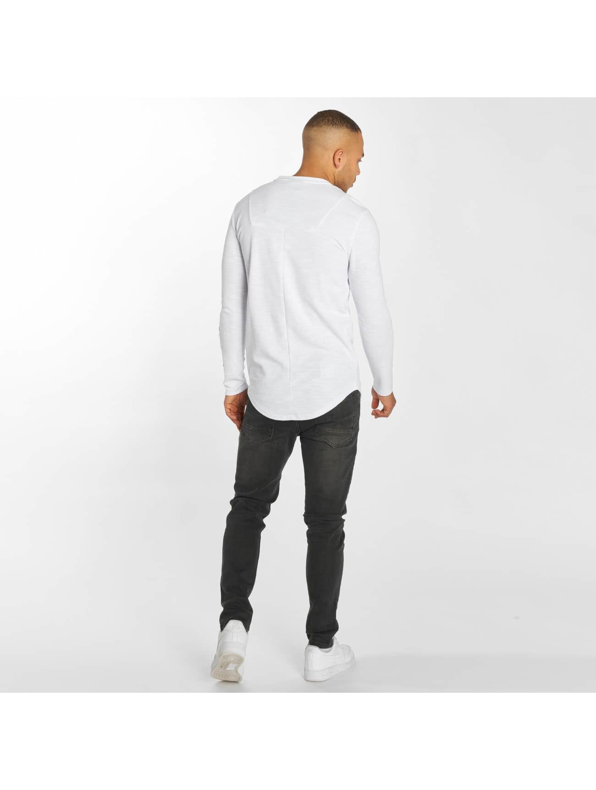 Hechbone T-Shirt manches longues Roses blanc