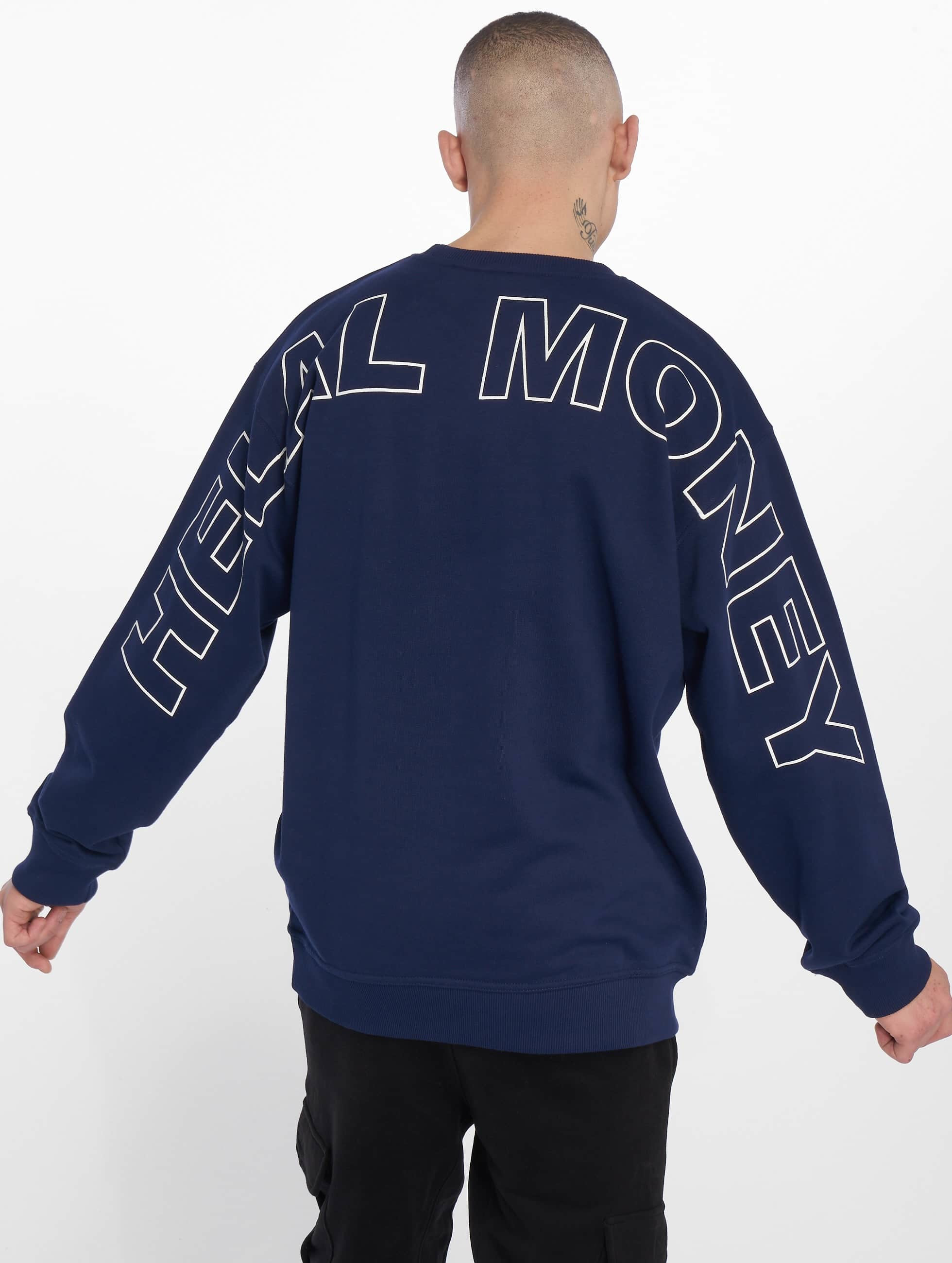 official photos 21c14 8f955 Helal Money Fully Armed Crewneck Navy/White