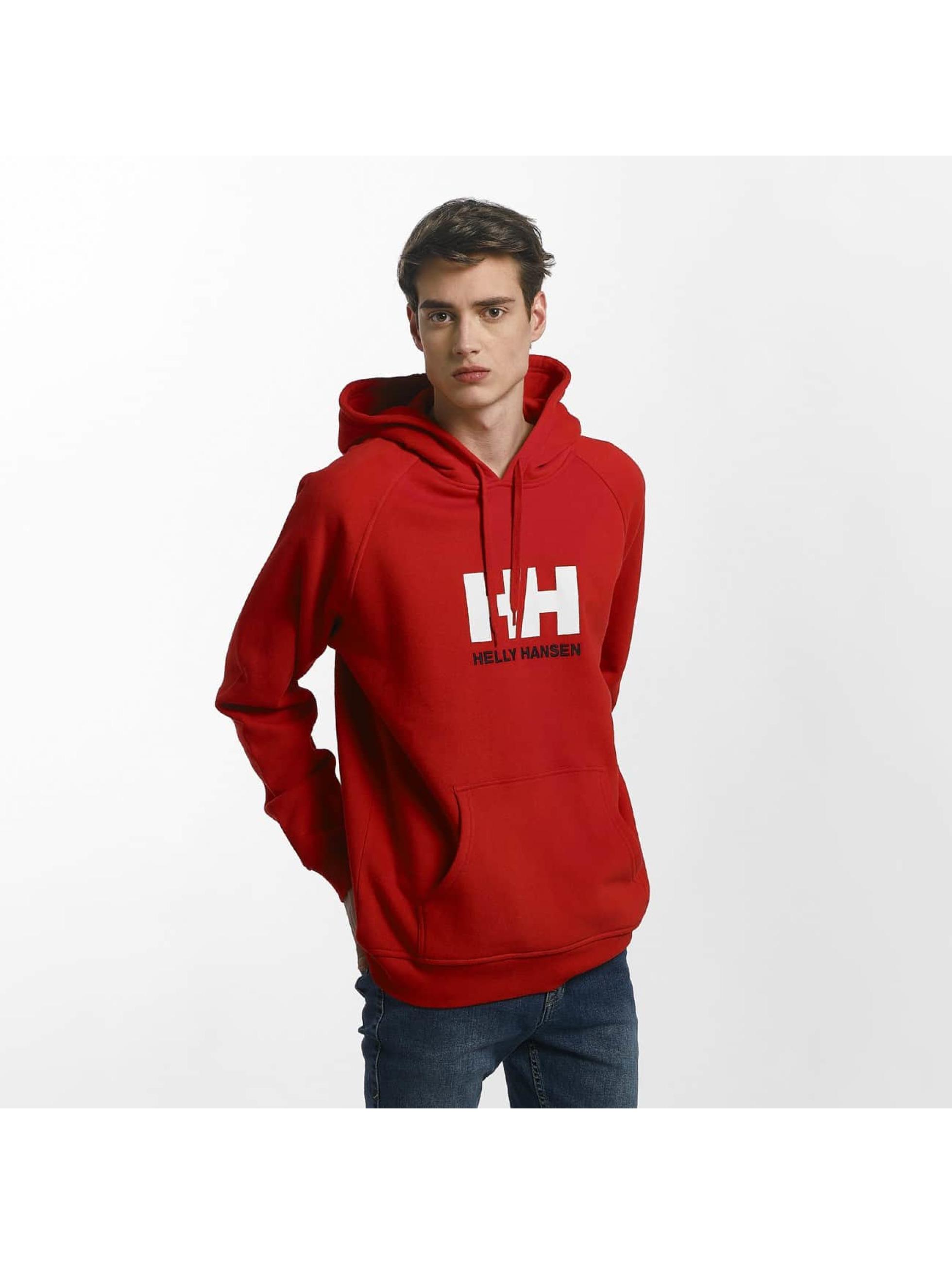 Helly Hansen Bluzy z kapturem Logo czerwony