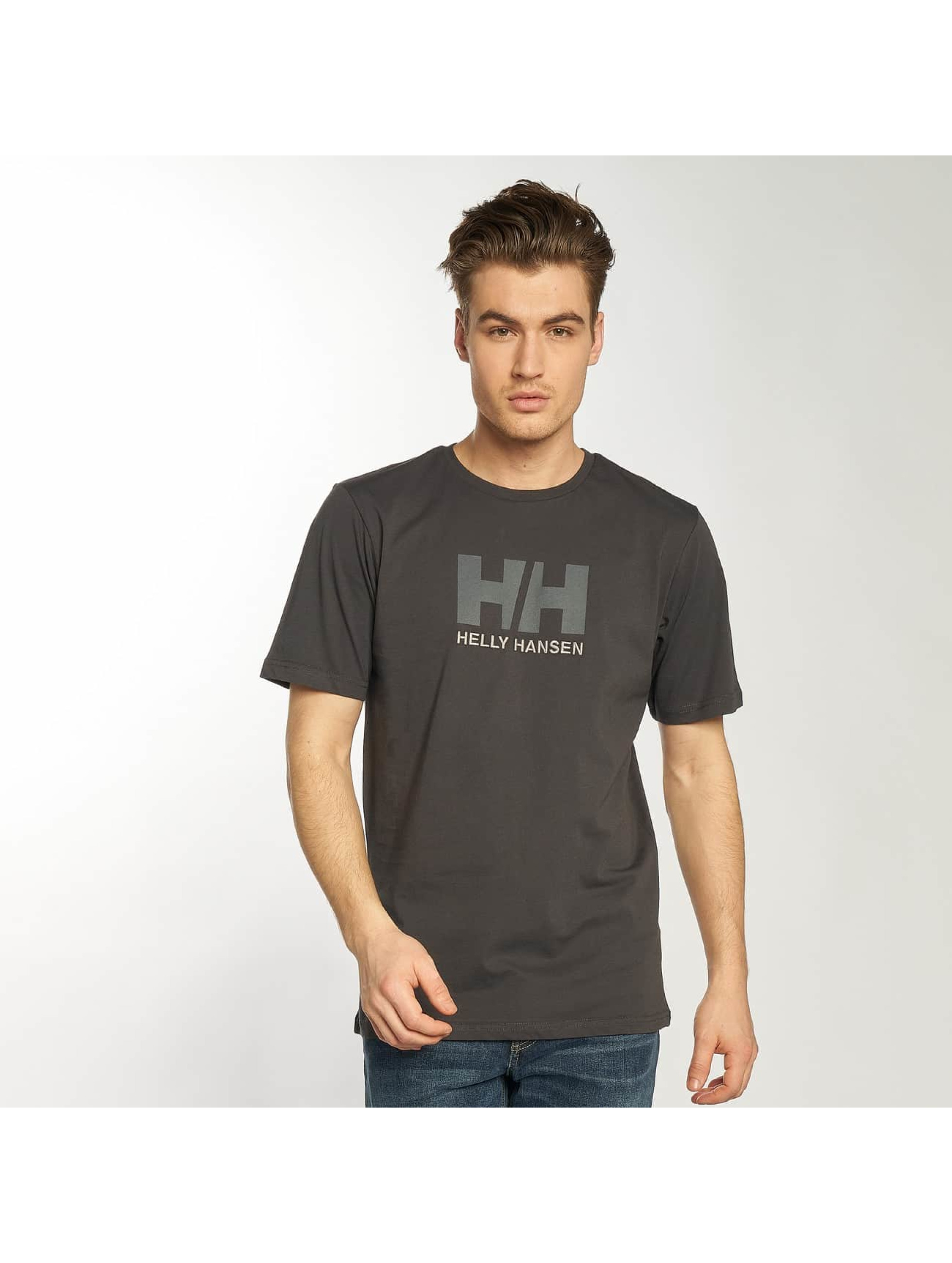Helly Hansen Tričká Logo šedá