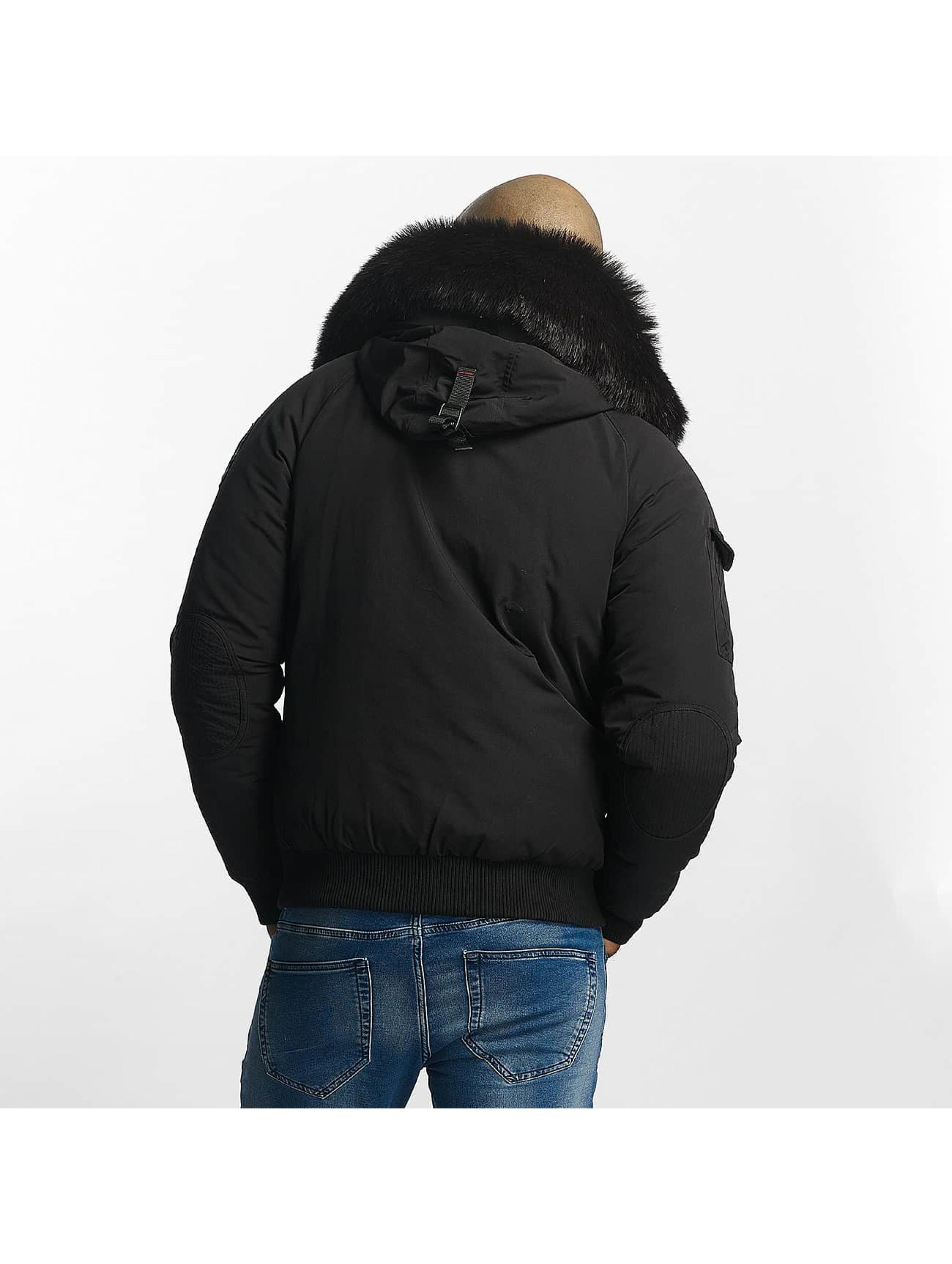 Helvetica Manteau hiver Anchorage noir