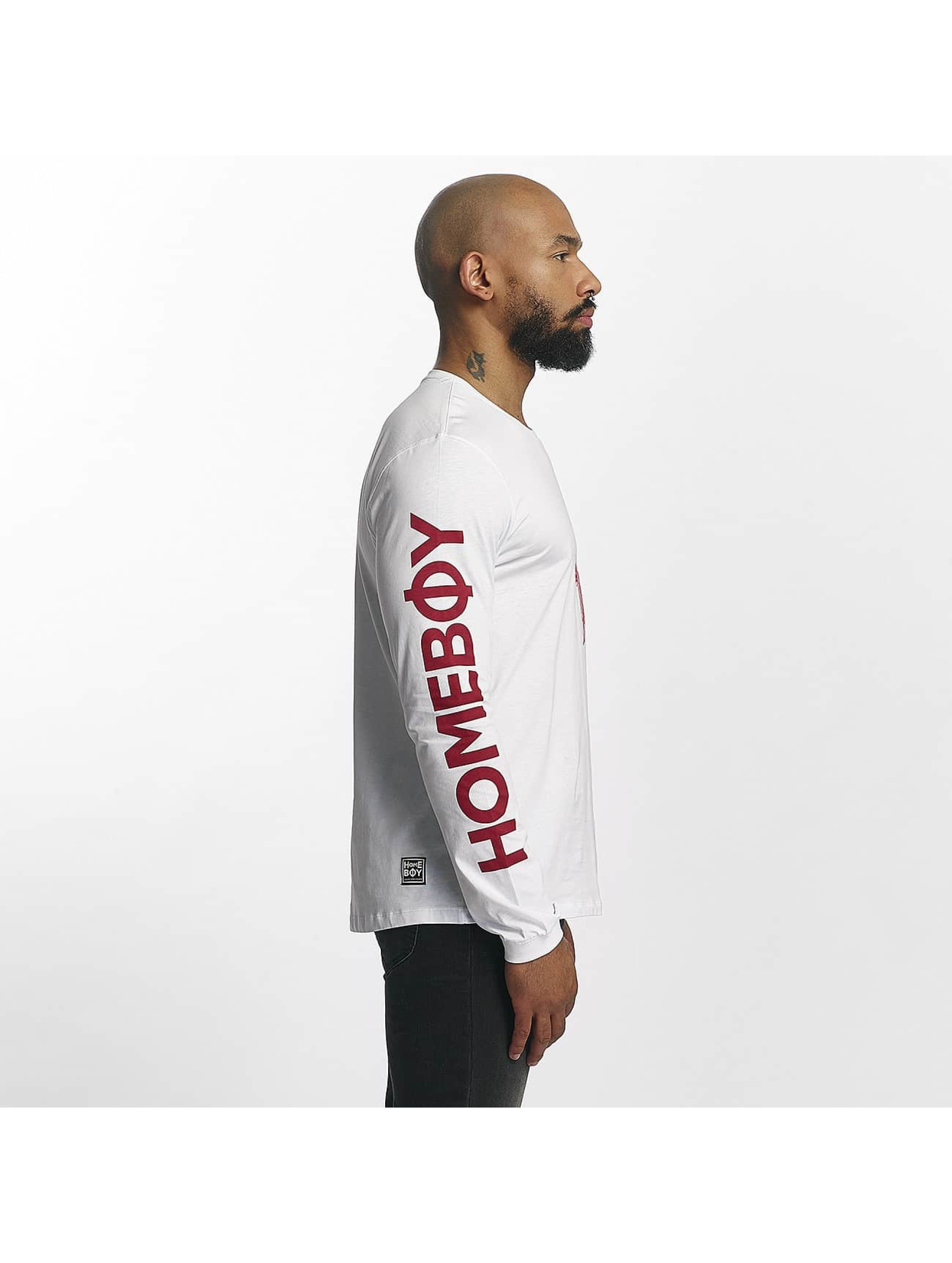 Homeboy Longsleeve Long Home white