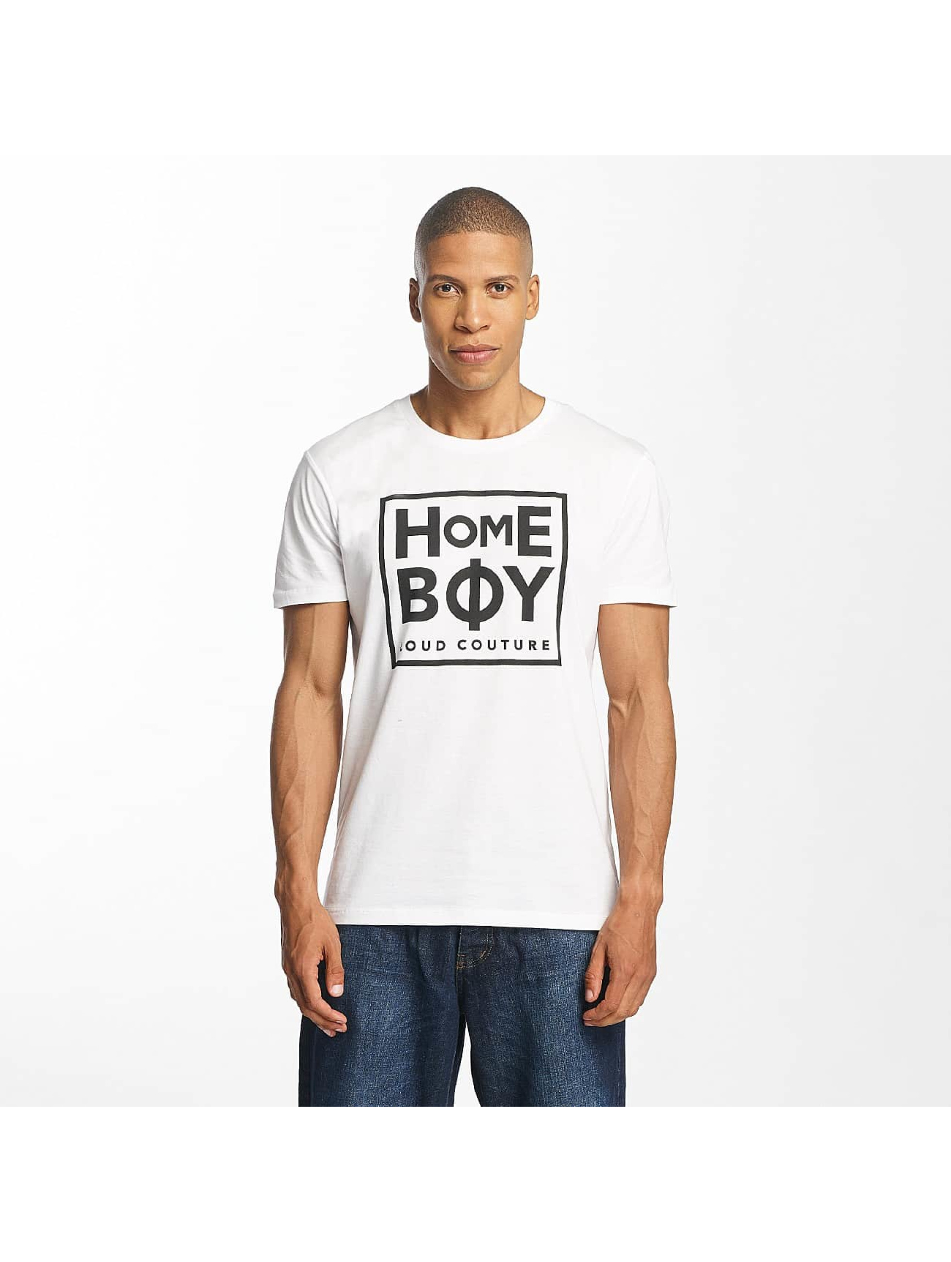 Homeboy T-Shirt Take You Home blanc