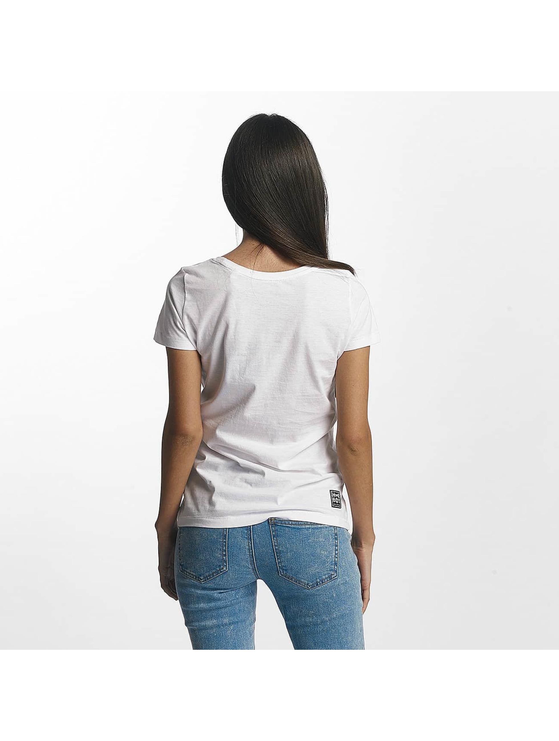 Homeboy T-Shirt Paris blanc