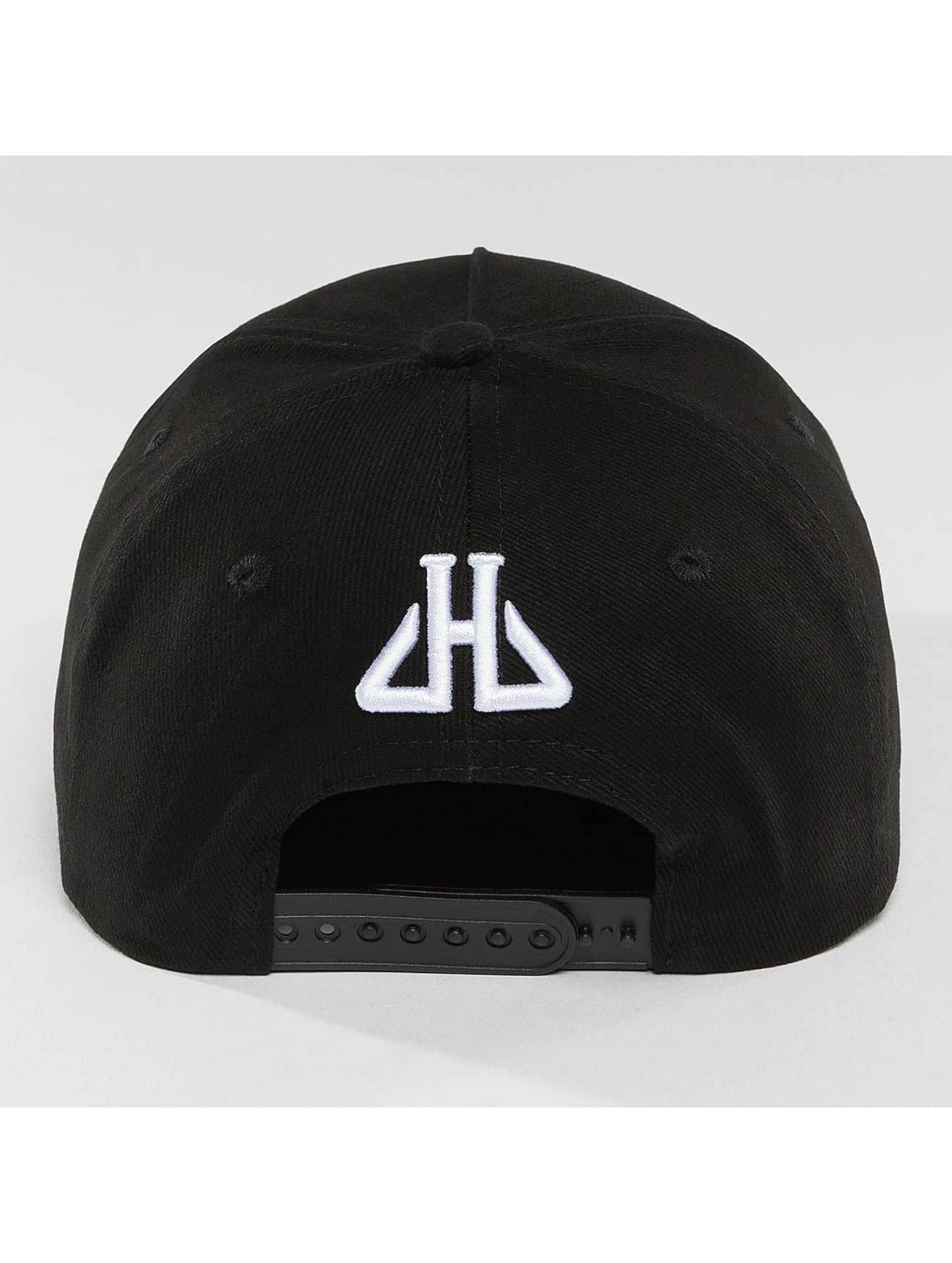 Horspist Snapback Caps Remenber svart