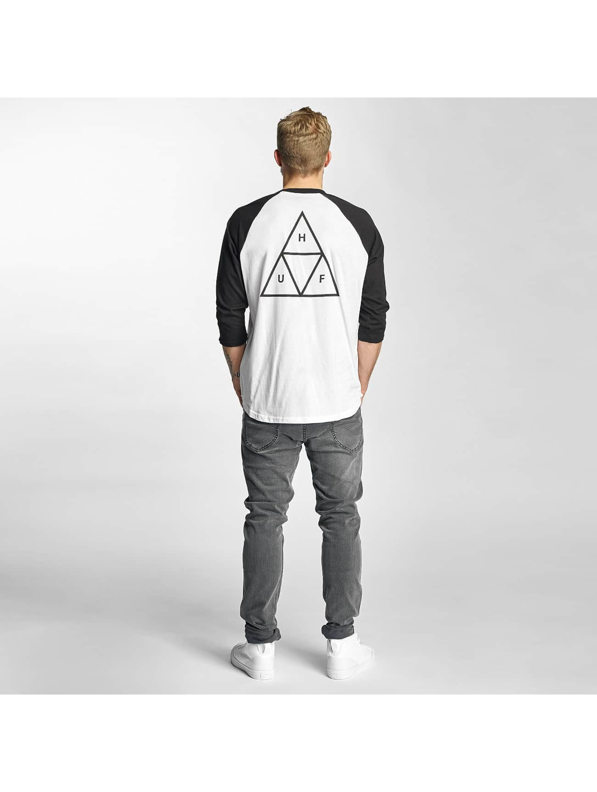 HUF Longsleeve Triple Triangle white
