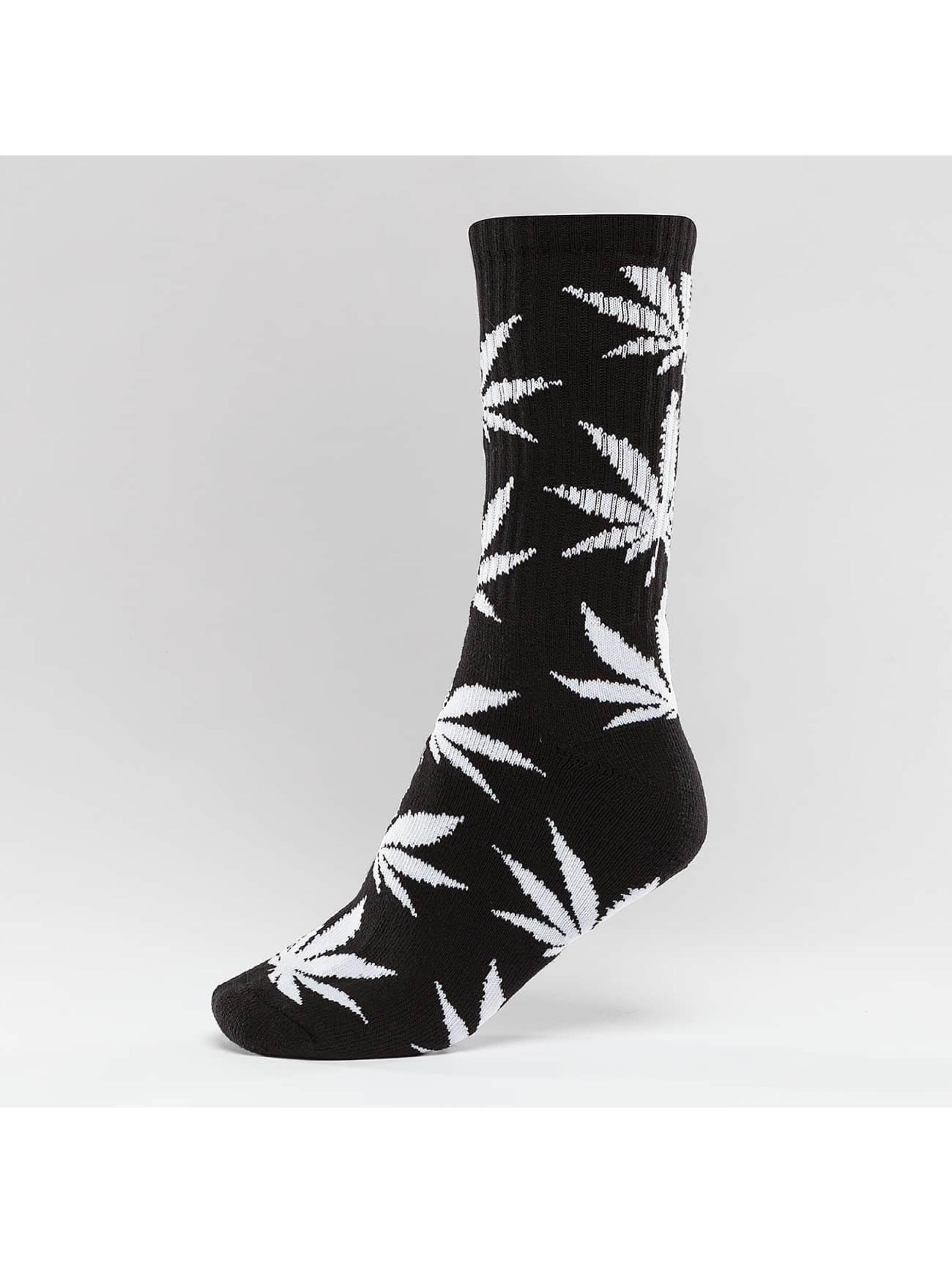 HUF Ponožky Plantlife Crew èierna