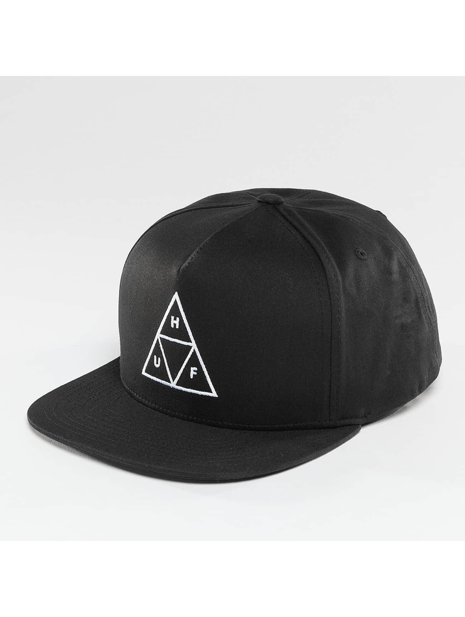 HUF Snapback Cap Triple Triangle black