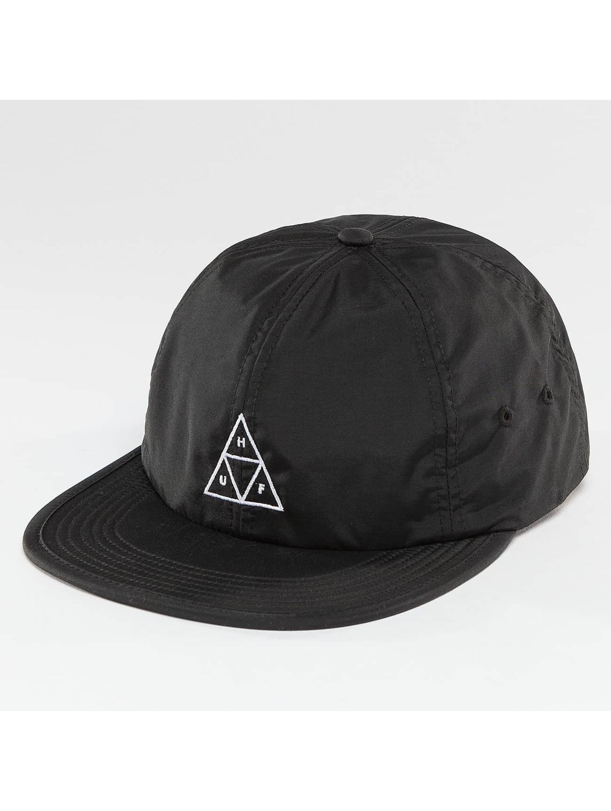 HUF Snapback Cap Formless Triple Triangle black