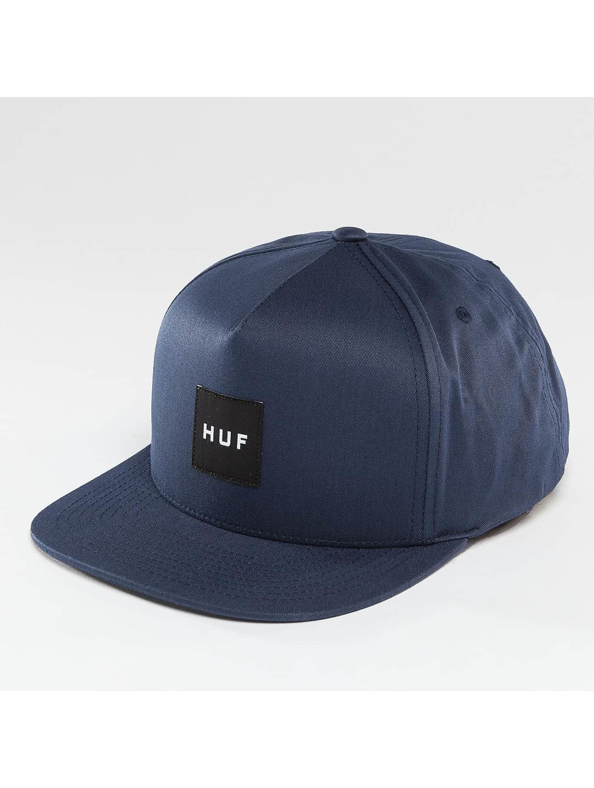 HUF Snapback Cap Box Logo blue