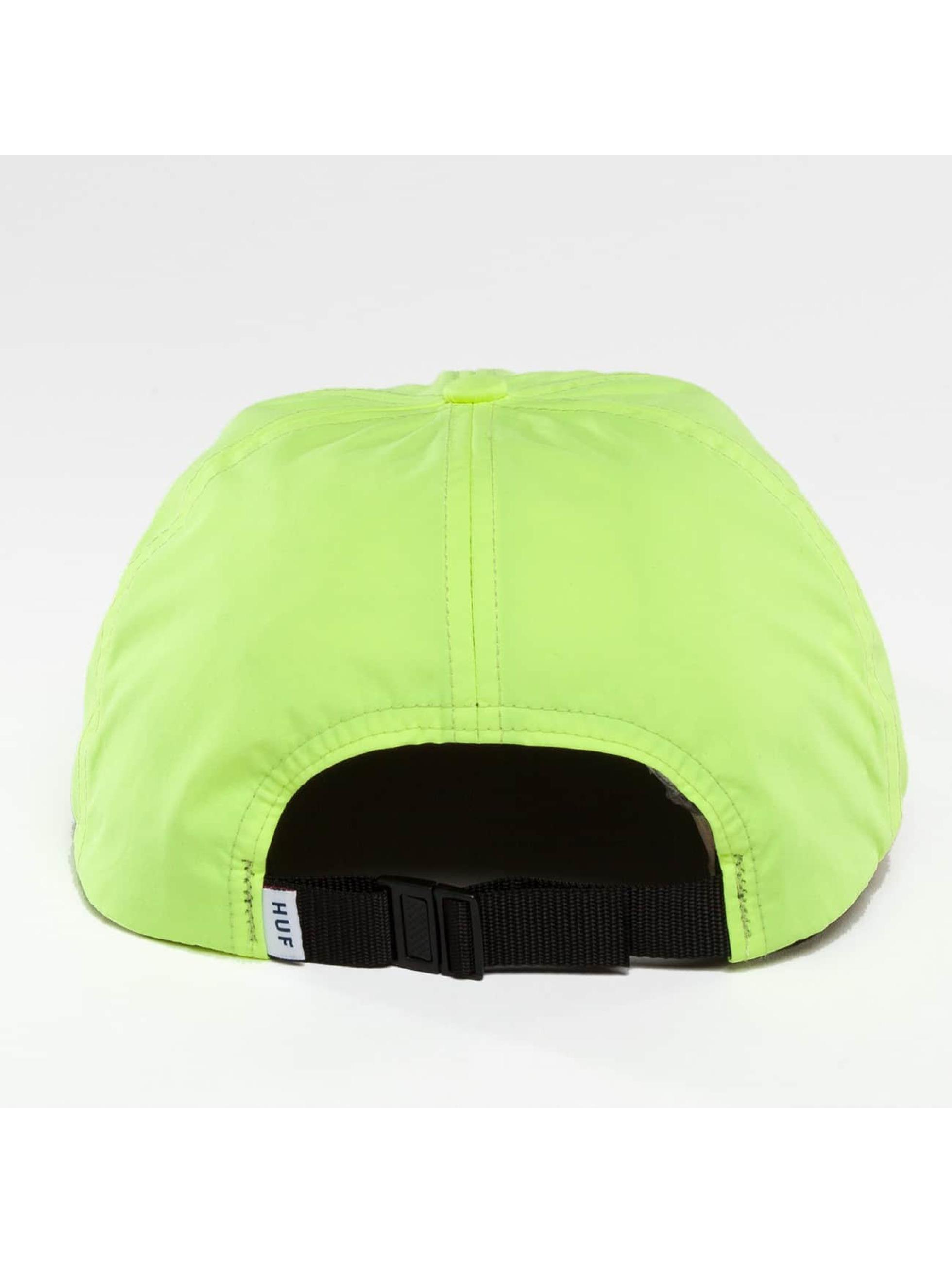 HUF Snapback Cap Formless Triple Triangle yellow