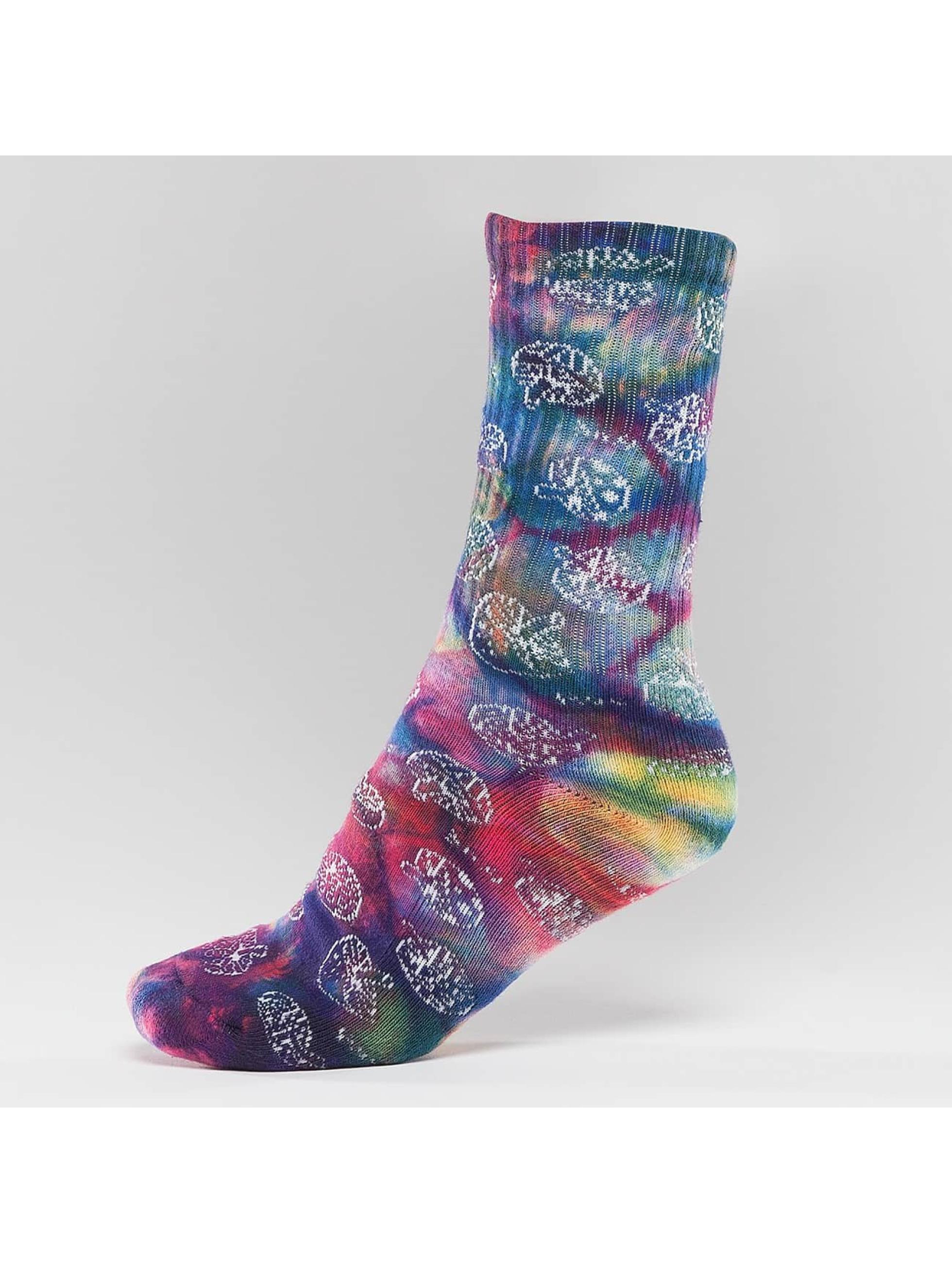 HUF Socks Shrooms colored