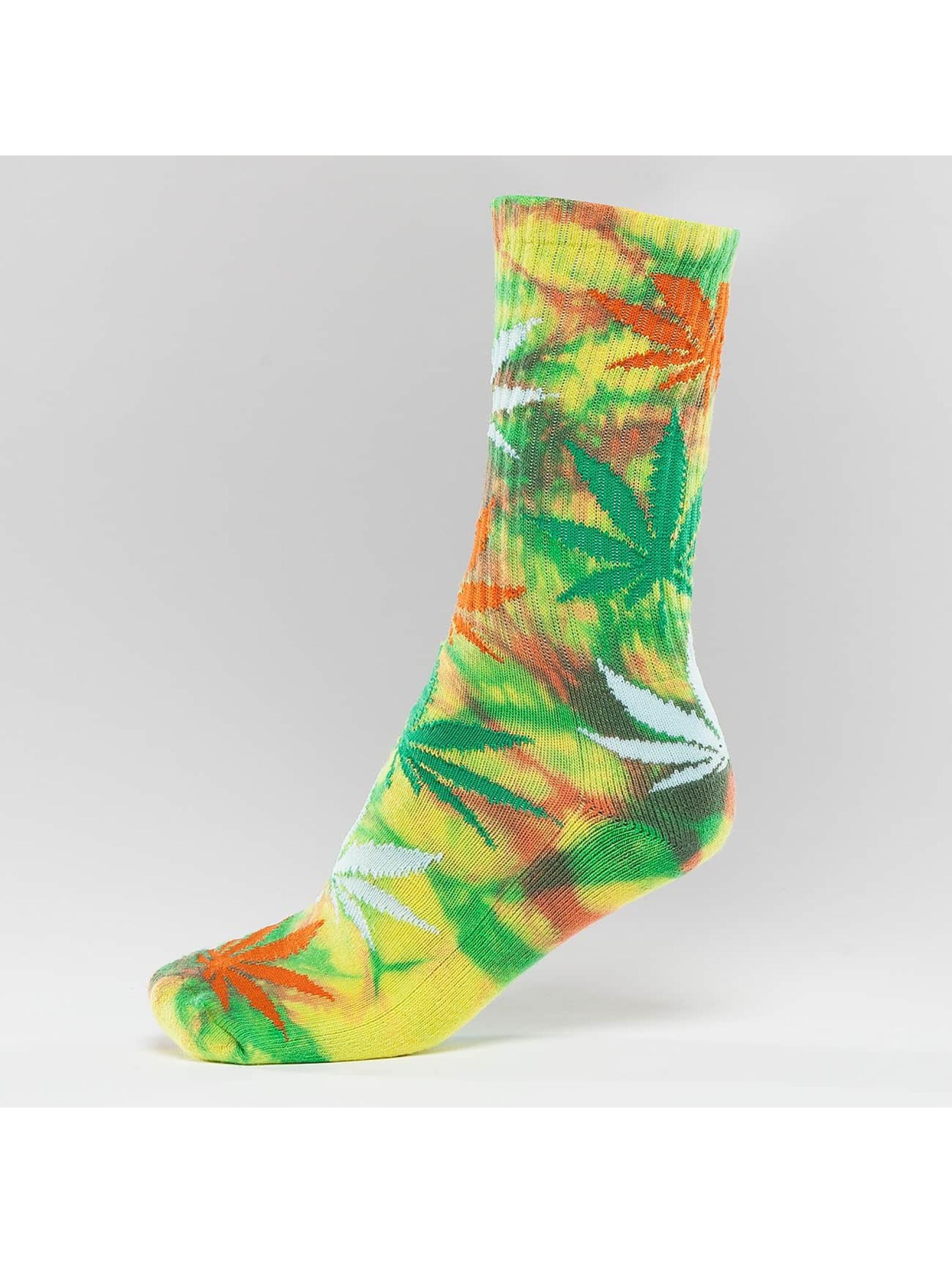HUF Socks Plantlife Strains Crew colored