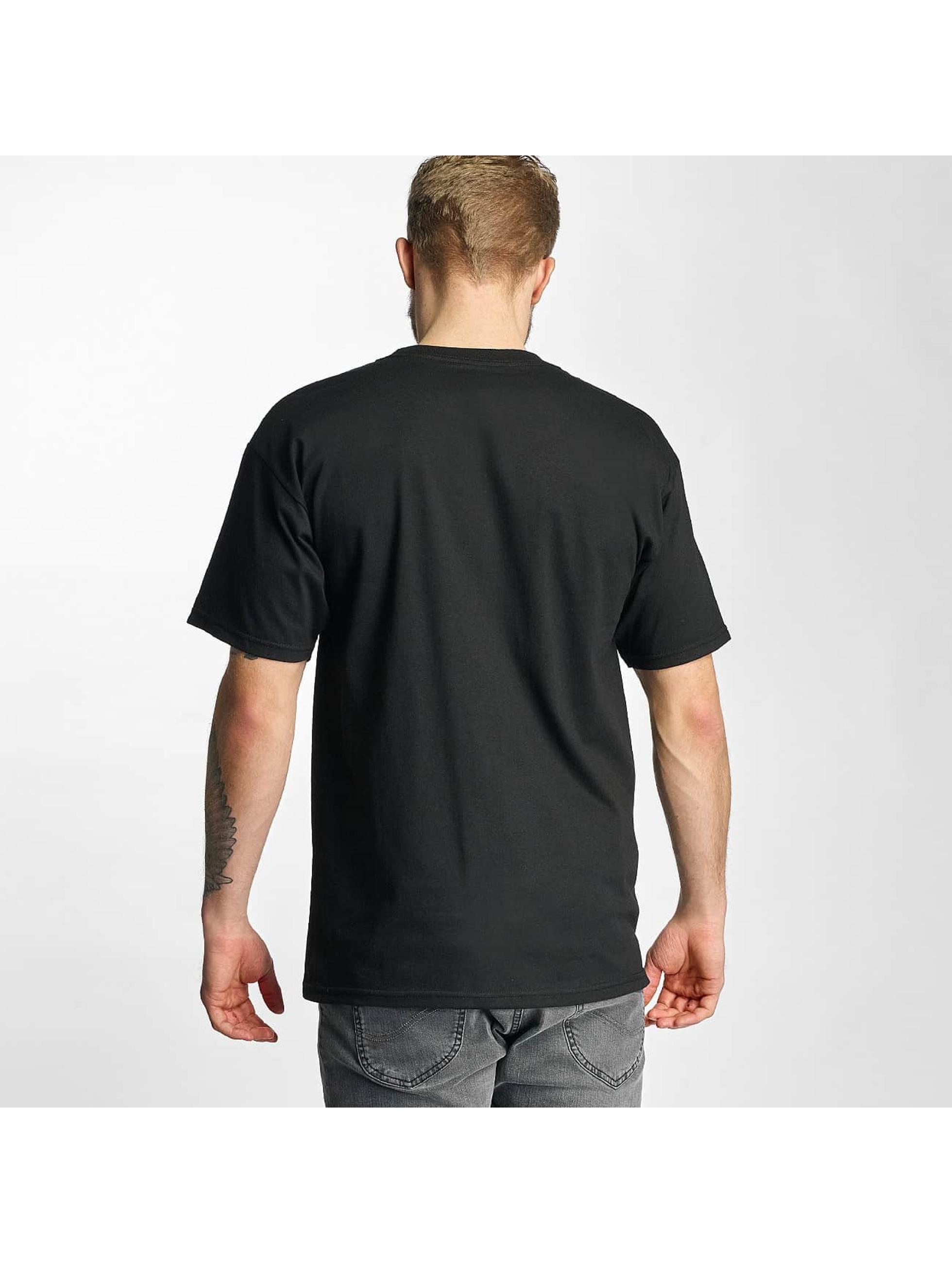 HUF T-Shirt Bar Logo black