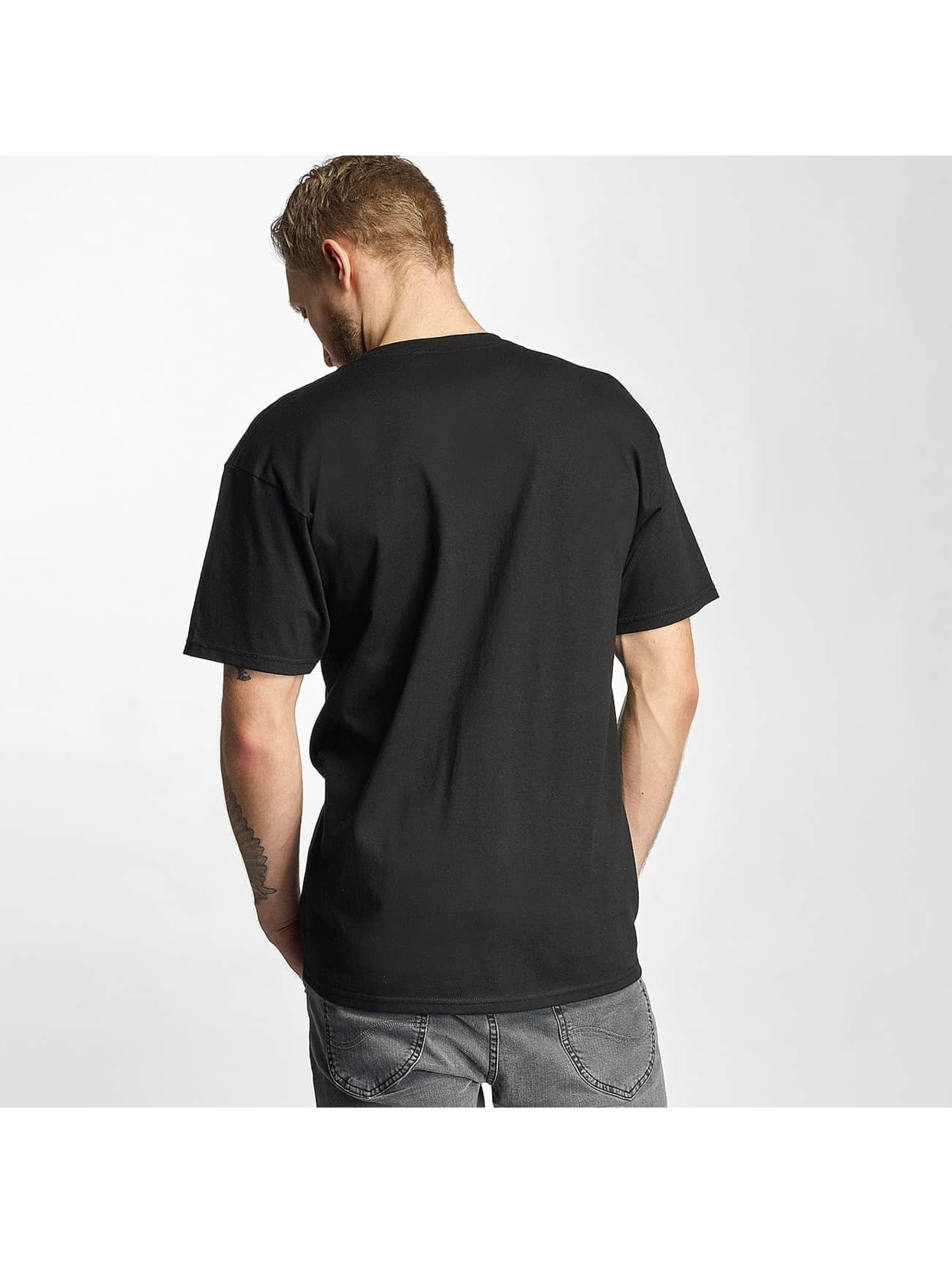 HUF T-Shirt Riot Box Logo black