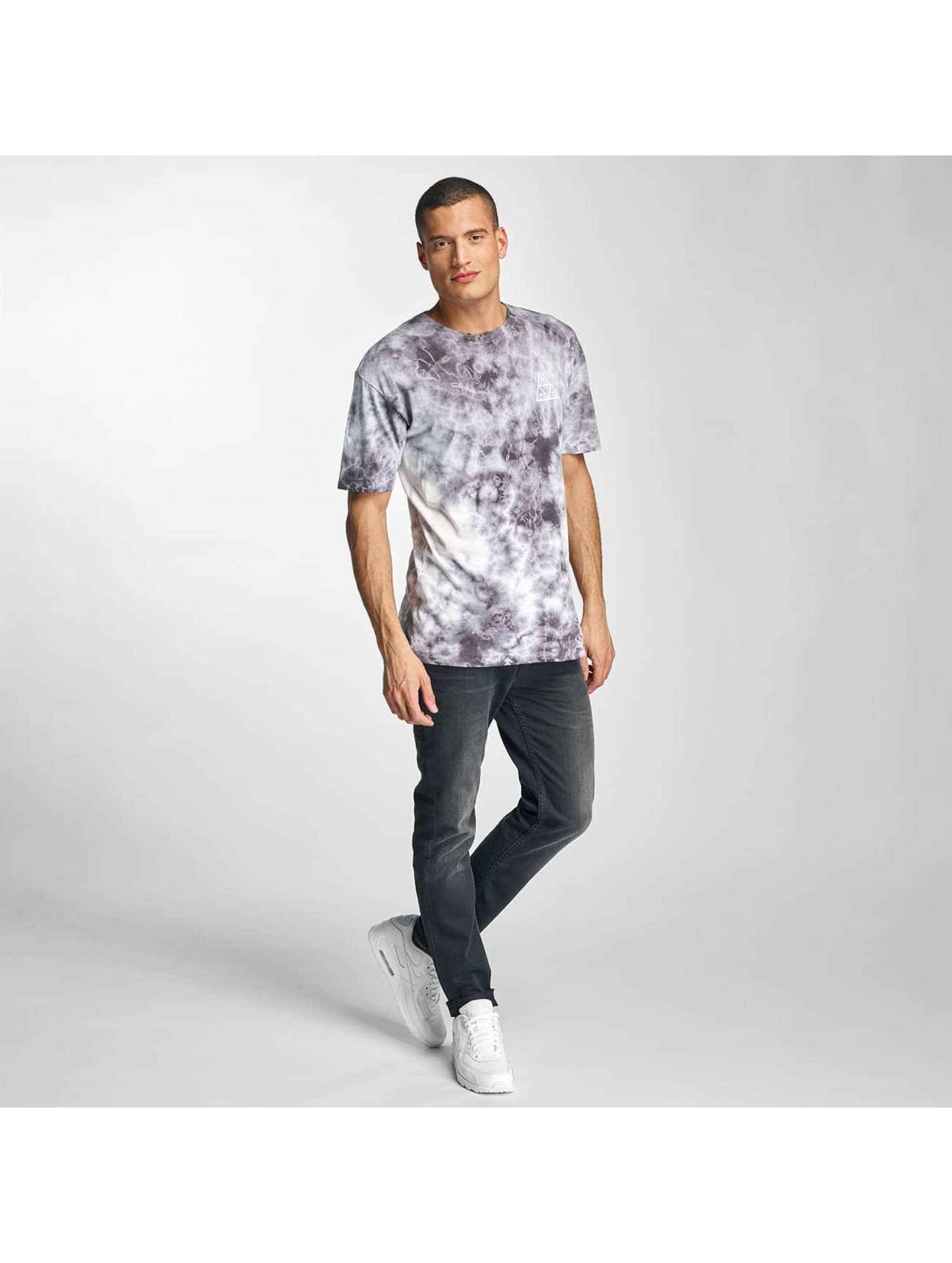HUF T-Shirt Crystal Wash Triple Triangle grey