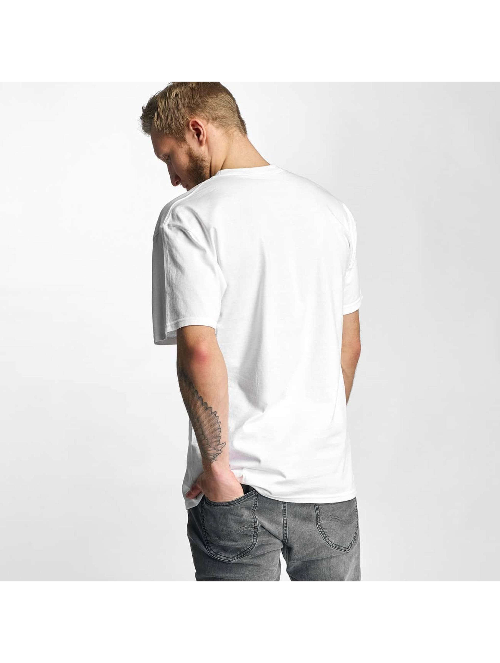 HUF T-Shirt Logo white