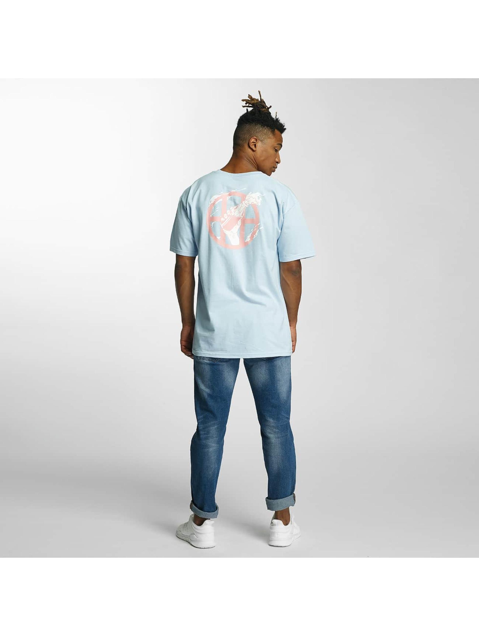 HUF T-skjorter Cocktail Hour blå