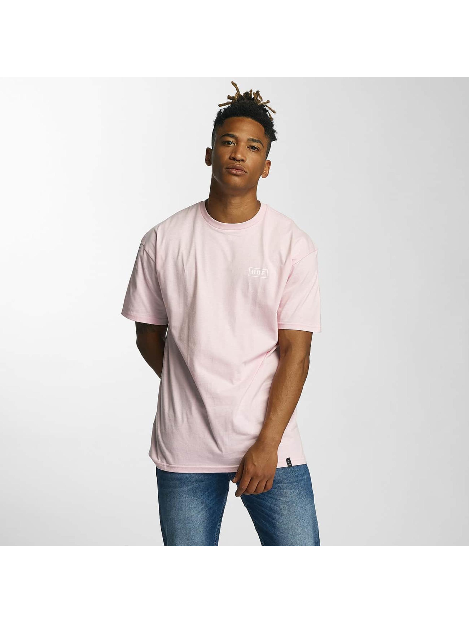 HUF T-skjorter Puff Bar Logo rosa