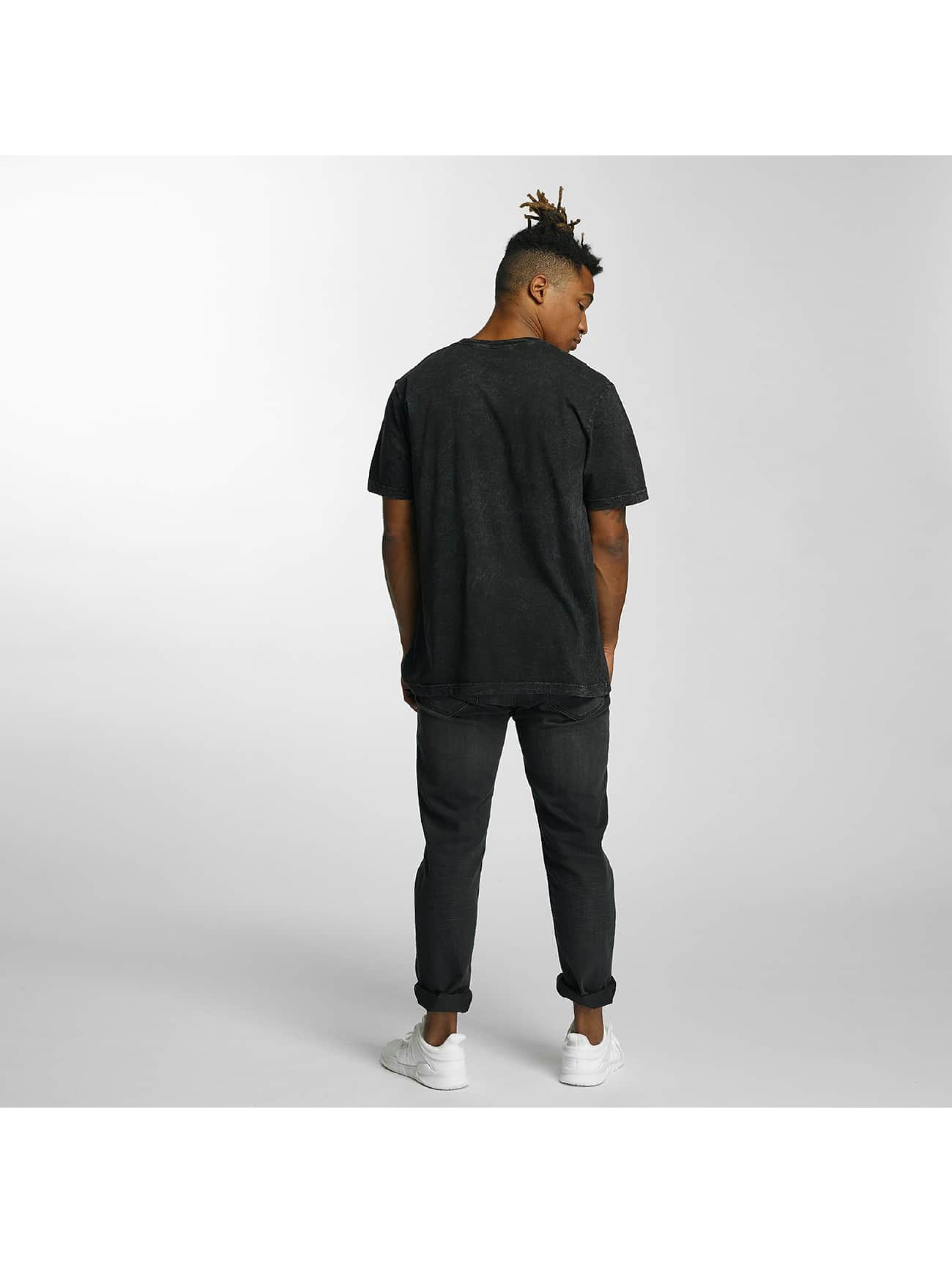 HUF T-skjorter Bar Logo svart